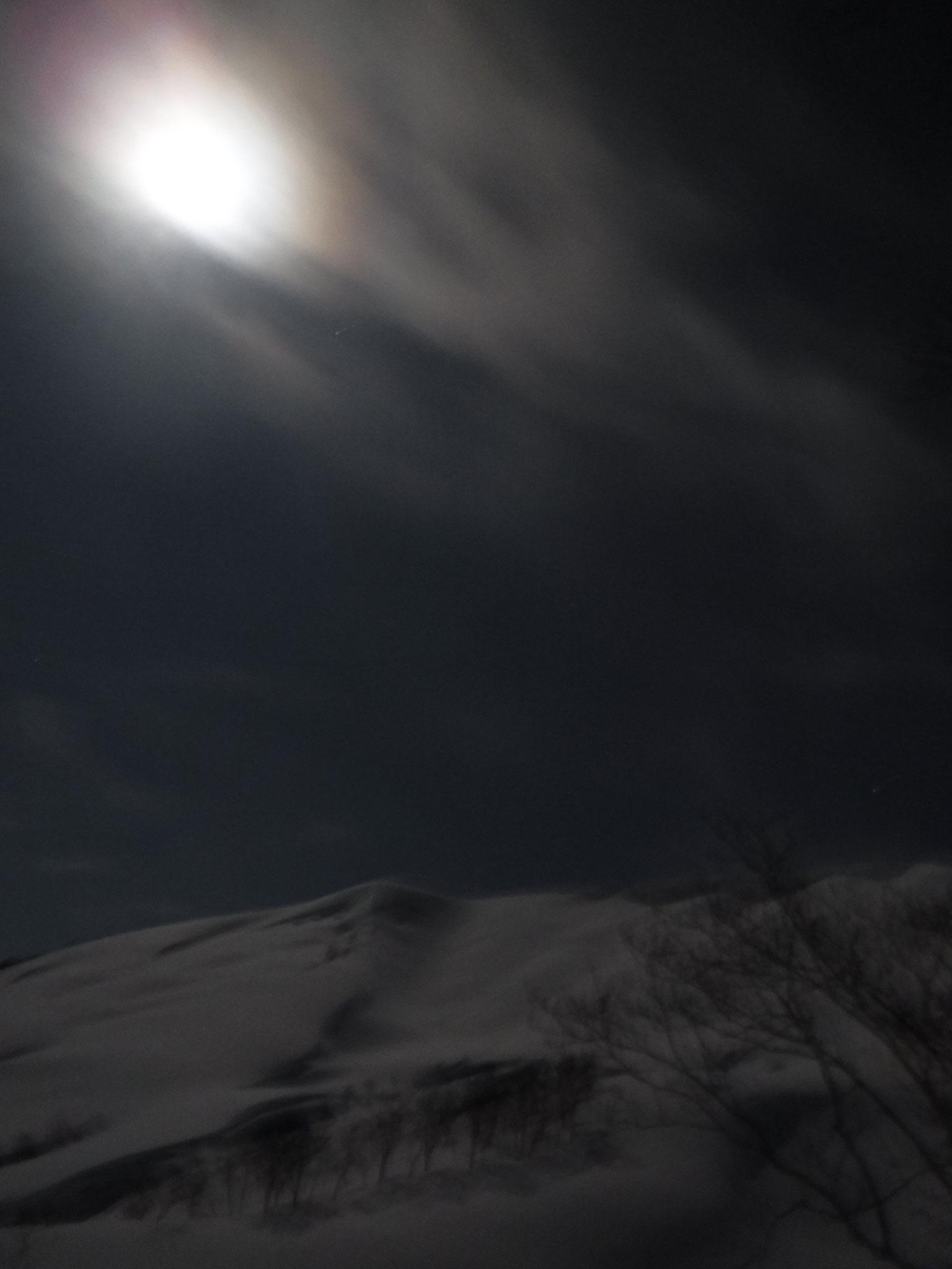 3/12 今日が満月 1:30 -12℃