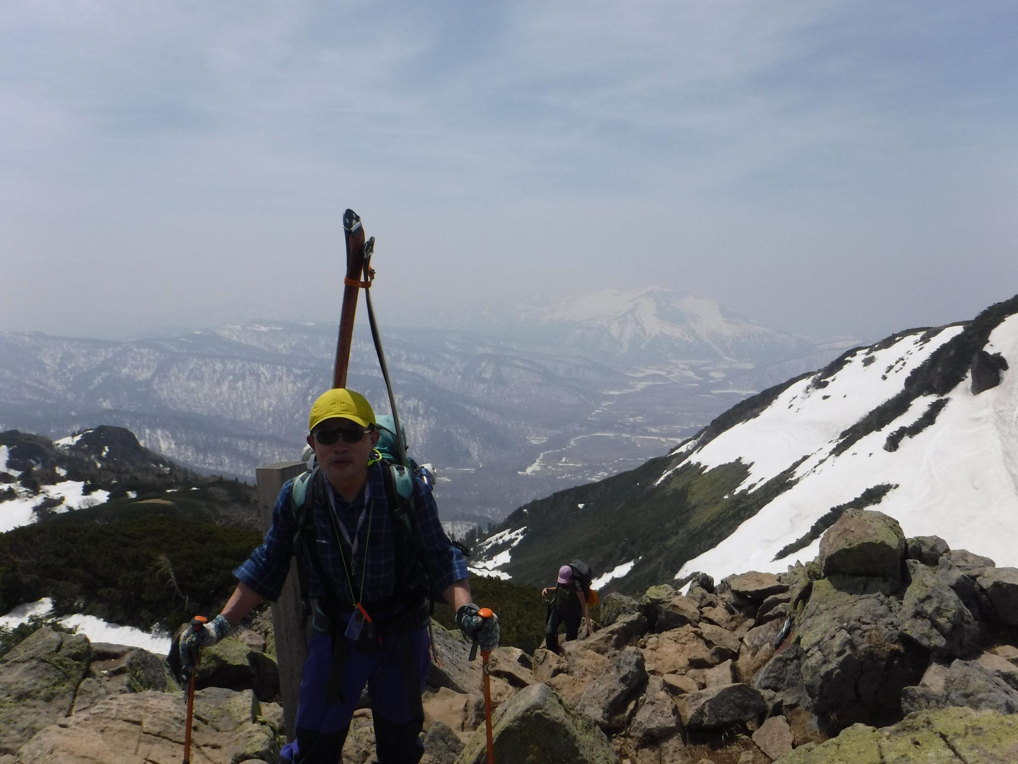 11:45 燧ケ岳山頂、俎嵓