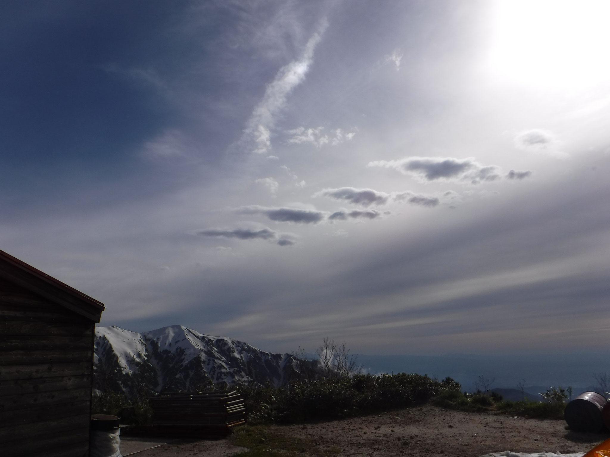 6/5 16:20 怪しげな雲、天候悪化は一時的なものだった