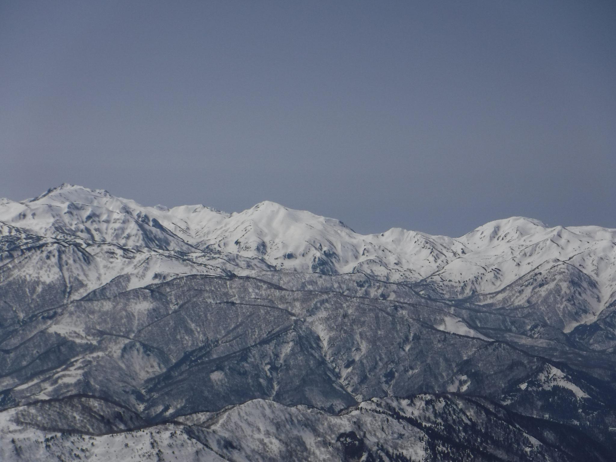 山頂からのパノラマ