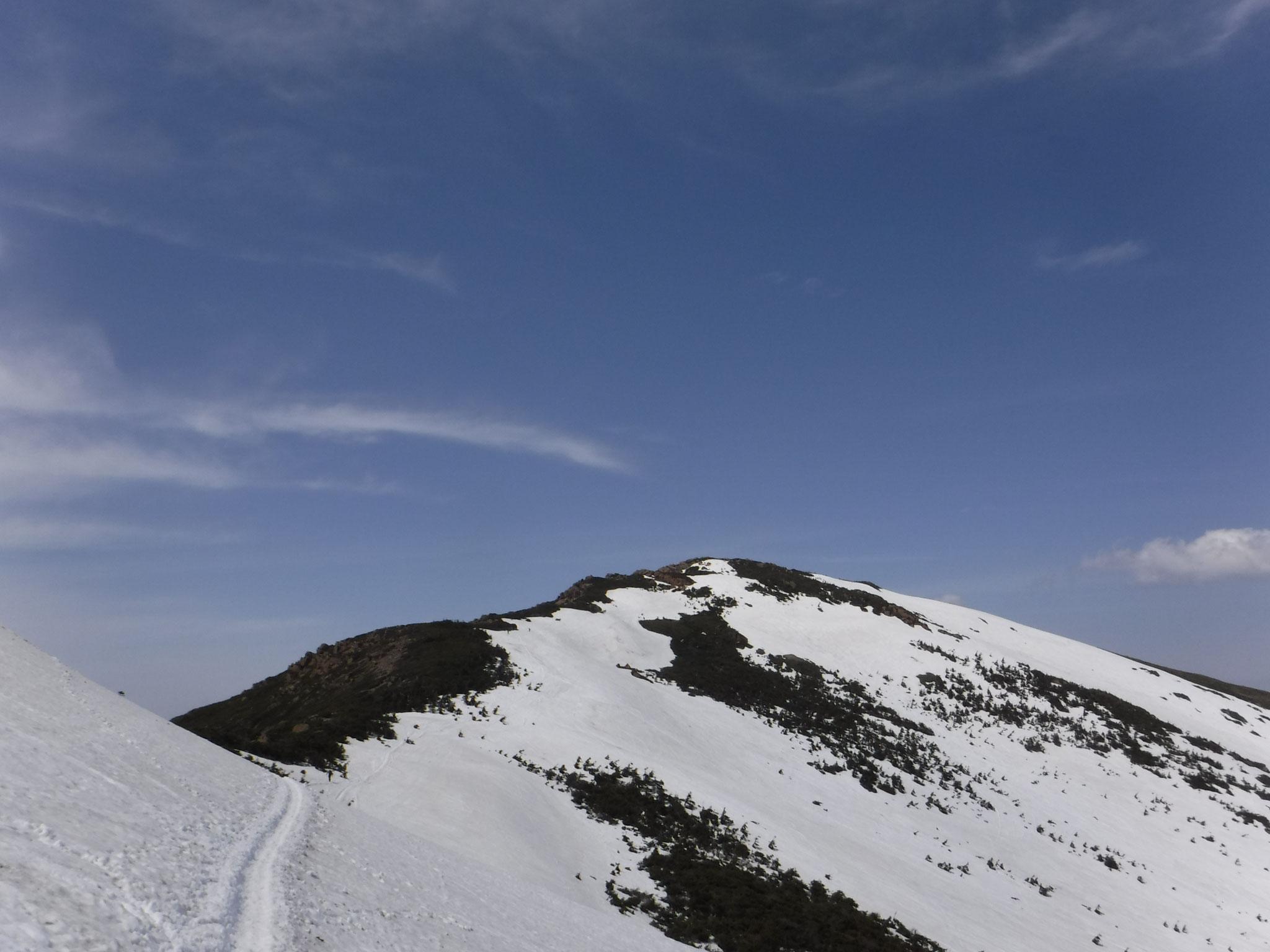 13:10 小至仏山東面トラバースと至仏山
