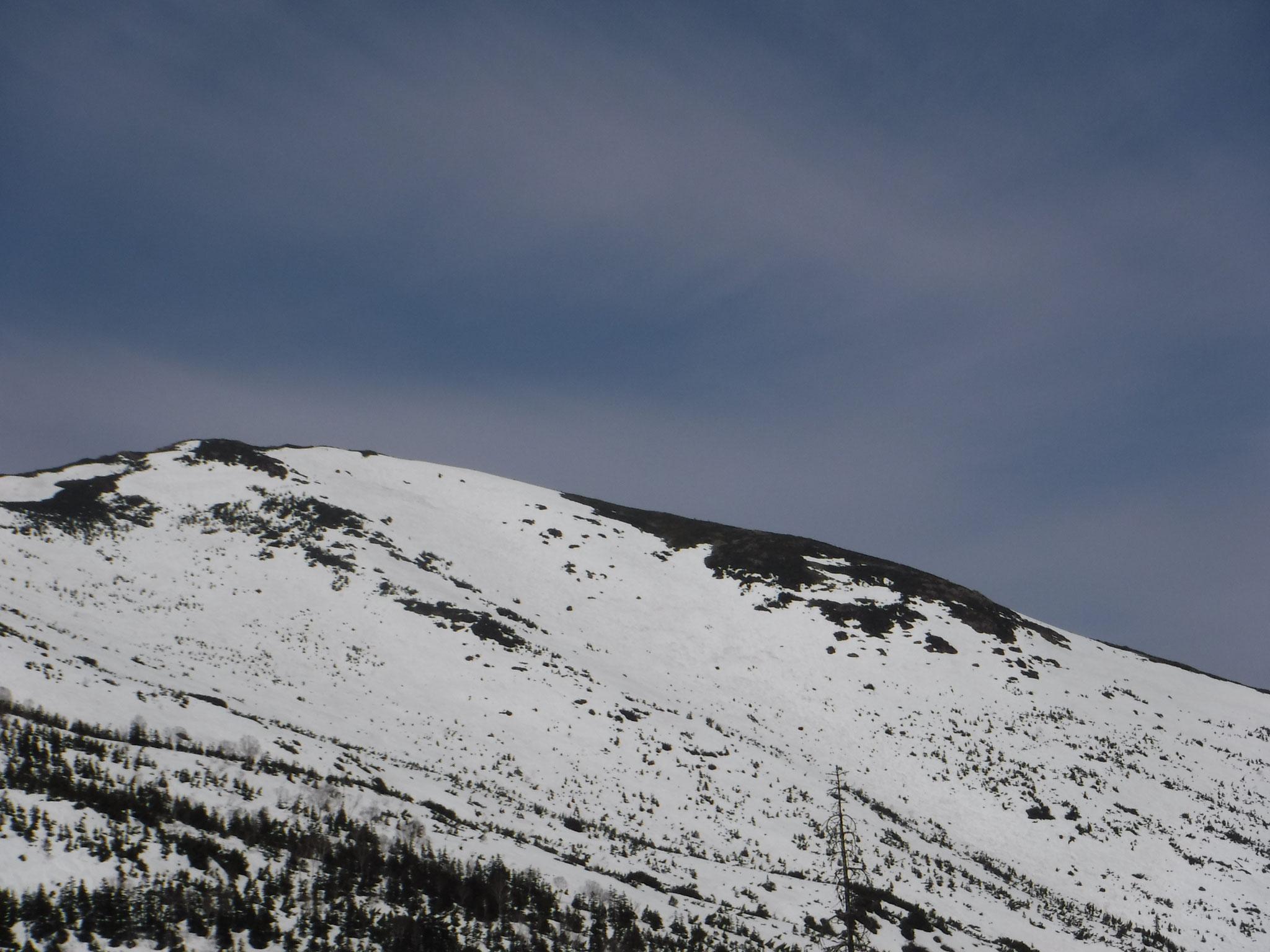 11:50 至仏山、南東側の斜面