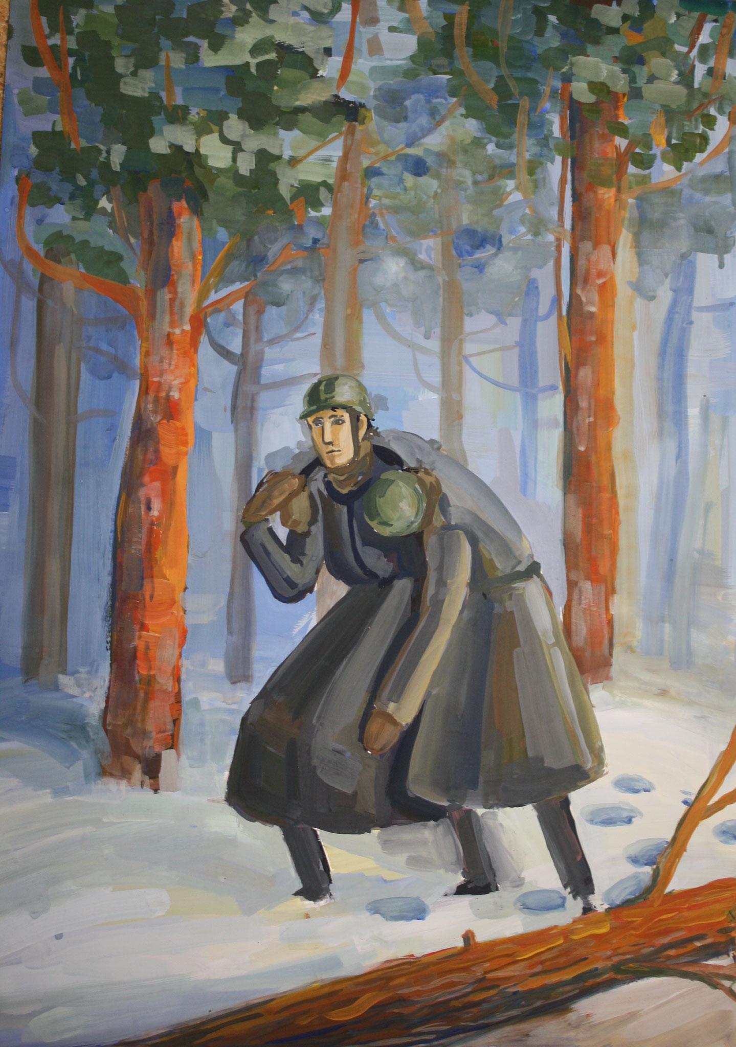 Автор - Кузнецова Анна, выпуск 2015 года, пр. Комарова Н.В.