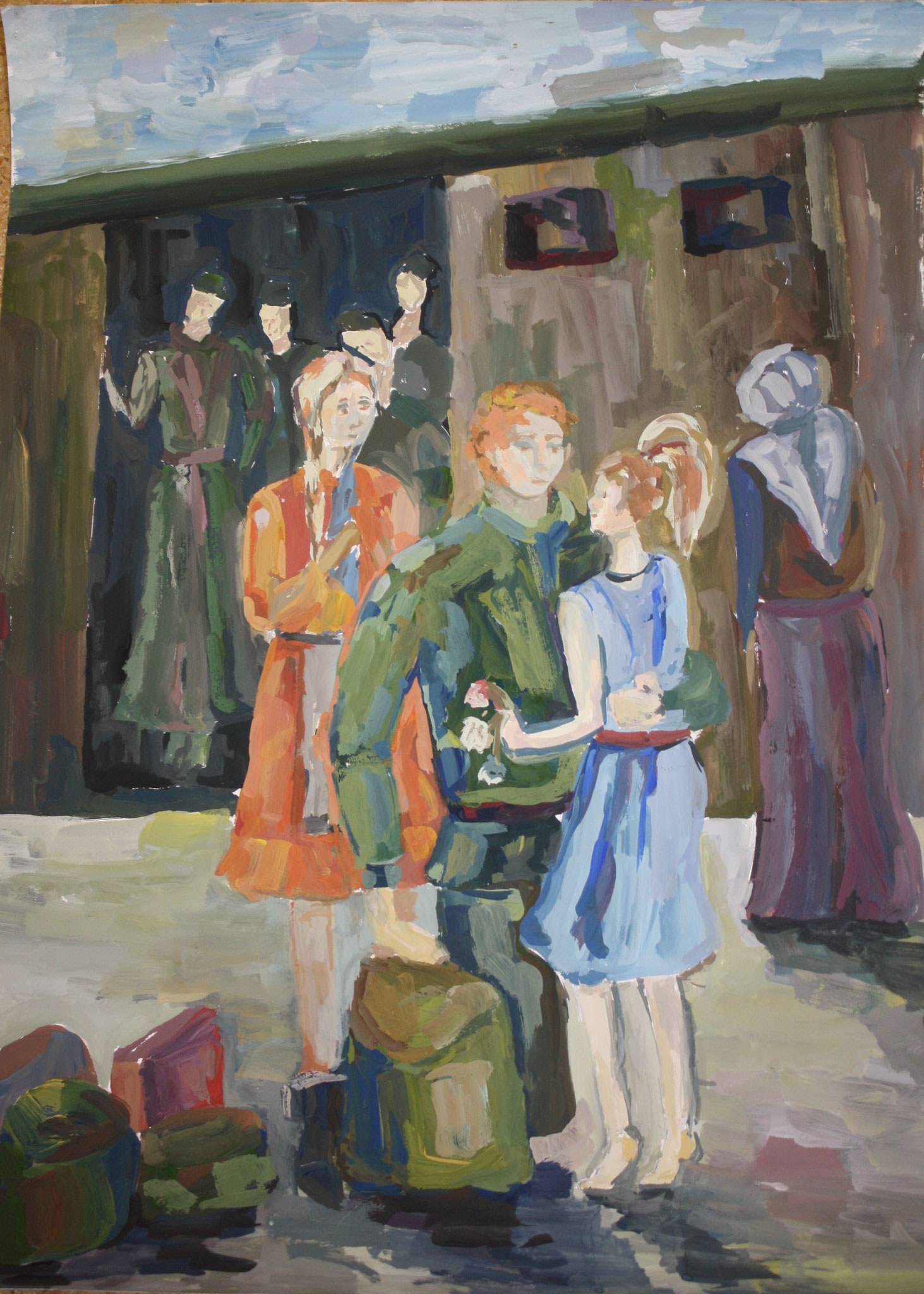 Автор - Коханюк Диана, выпуск 2015 года, пр. Комарова Н.В.