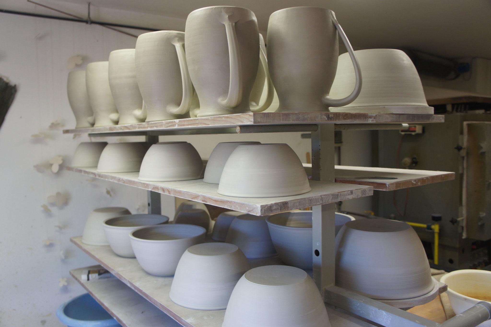 Keramikwerkstatt TON ART im Haus