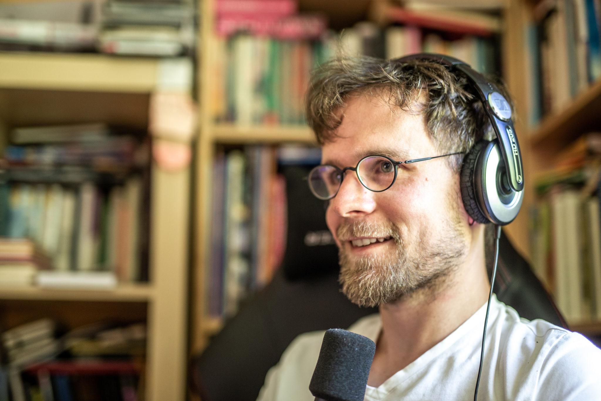 Fabian Riemen im Gespräch mit Roland Spranger ©Frank Wunderatsch