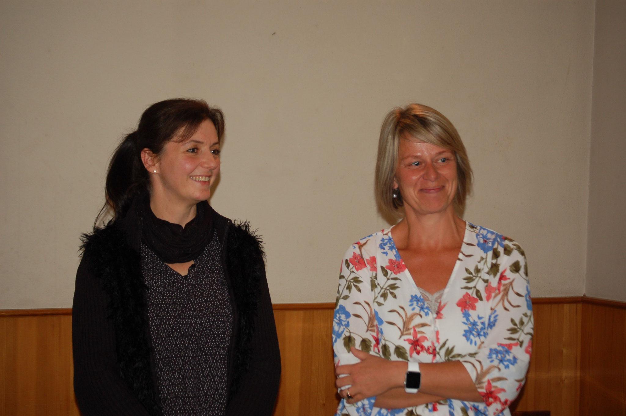 2 EV-Mitglieder wurden verabschiedet - Petra Meusburger und Silvia Fetz - DANKE für eure Mithilfe!