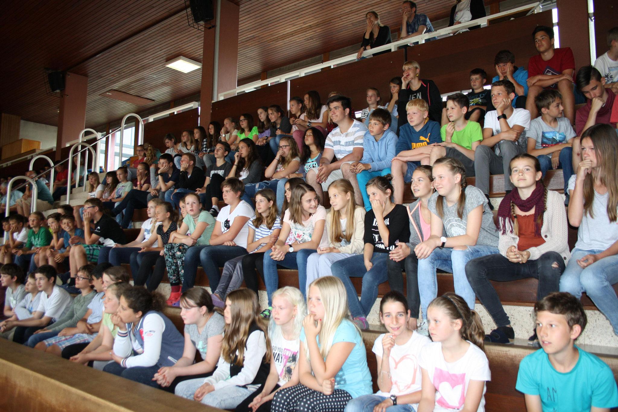 Blick in die Schülerrunde