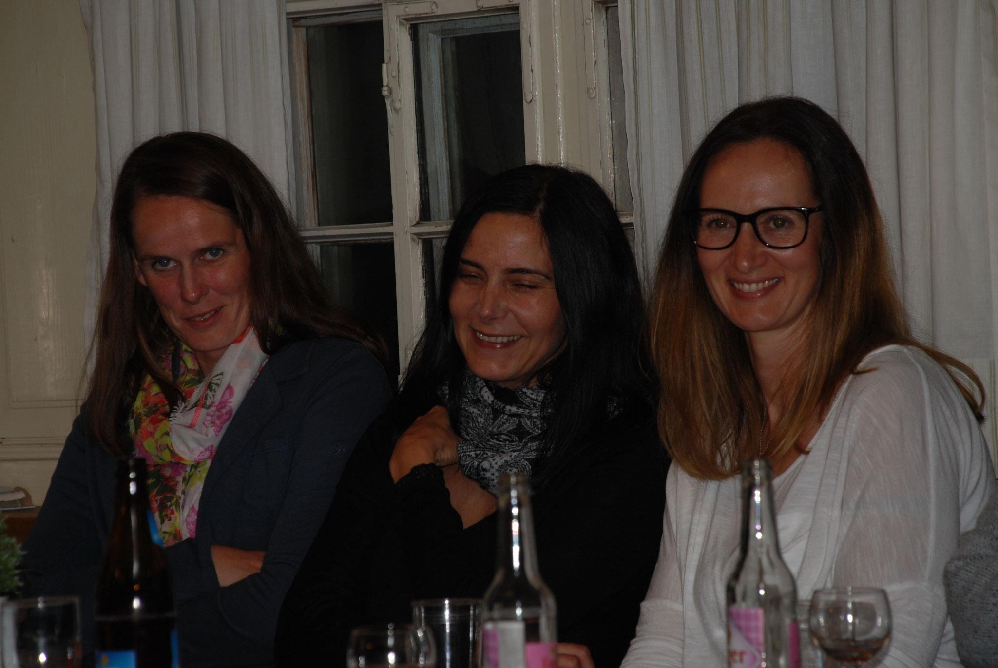 neue EV-Mitglieder v.l.: Grit Glawe, Christine Bär, Tanja Feldkircher, Silvia Wolf (nicht auf Foto)