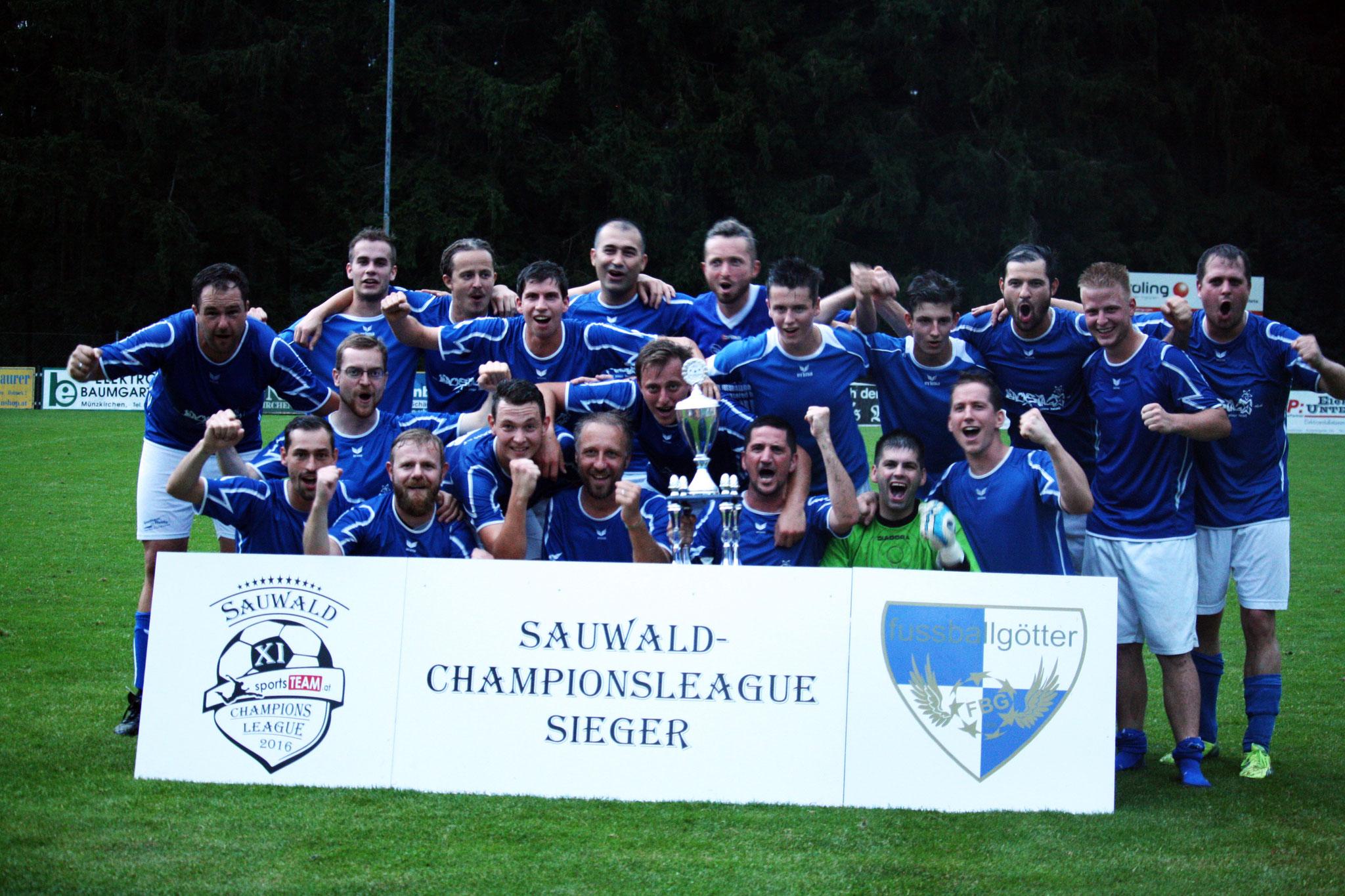 Champion 2016 - Fussballgötter Bach
