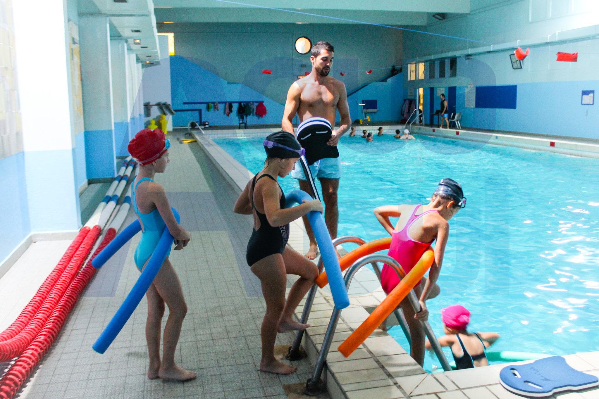 cours de natation enfant - Marseille - Aquabul