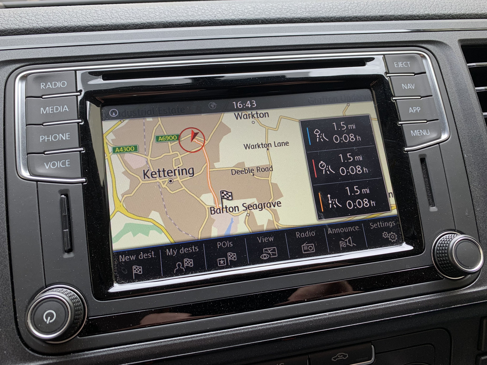 Discover Nav with Europe mapping
