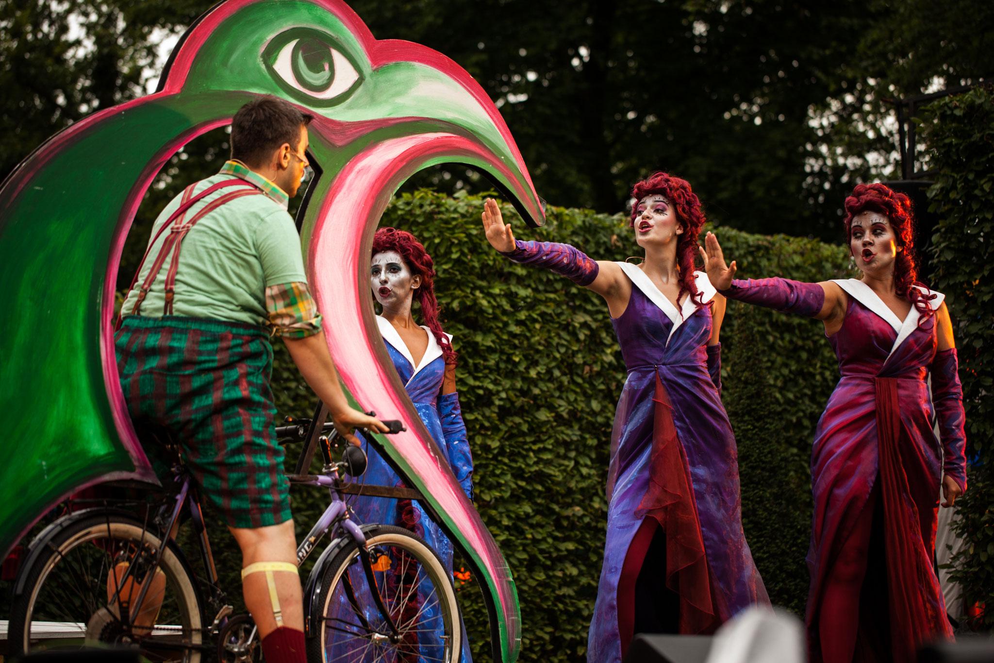 3. Dame/Die Zauberflöte/Mozart - Kammeroper Schloss Rheinsberg © Adam Nawracaj
