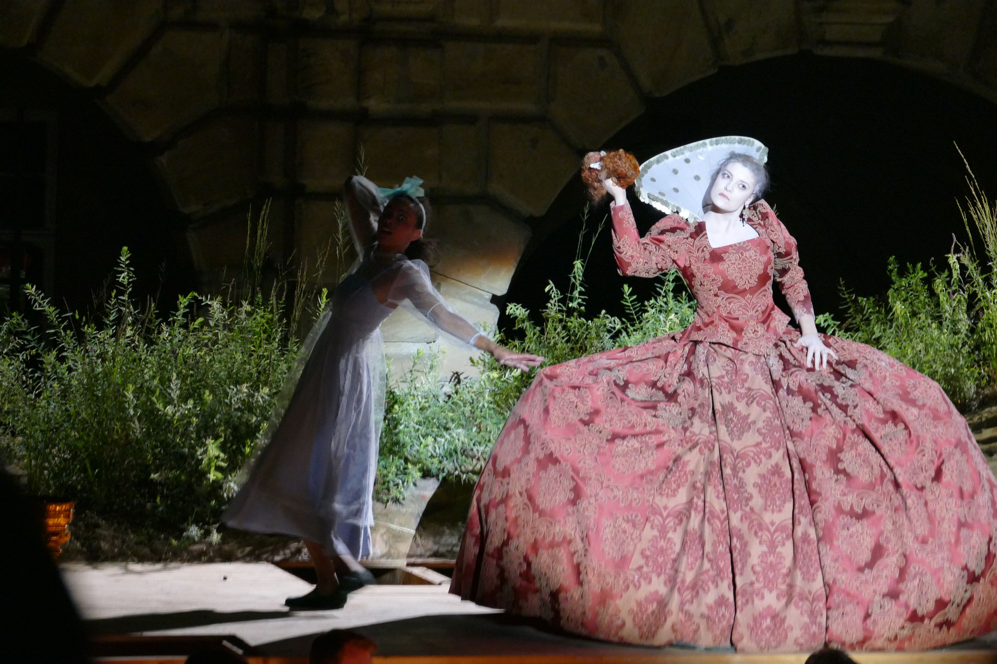 Knusperhexe/Hänsel und Gretel/Humperdinck - Junge Oper Schloss Weikersheim © Farina Grieb