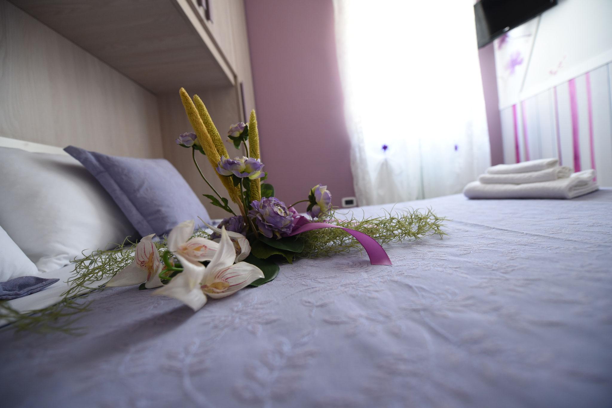 Camera Matrimoniale 2  o doppia con due singoli