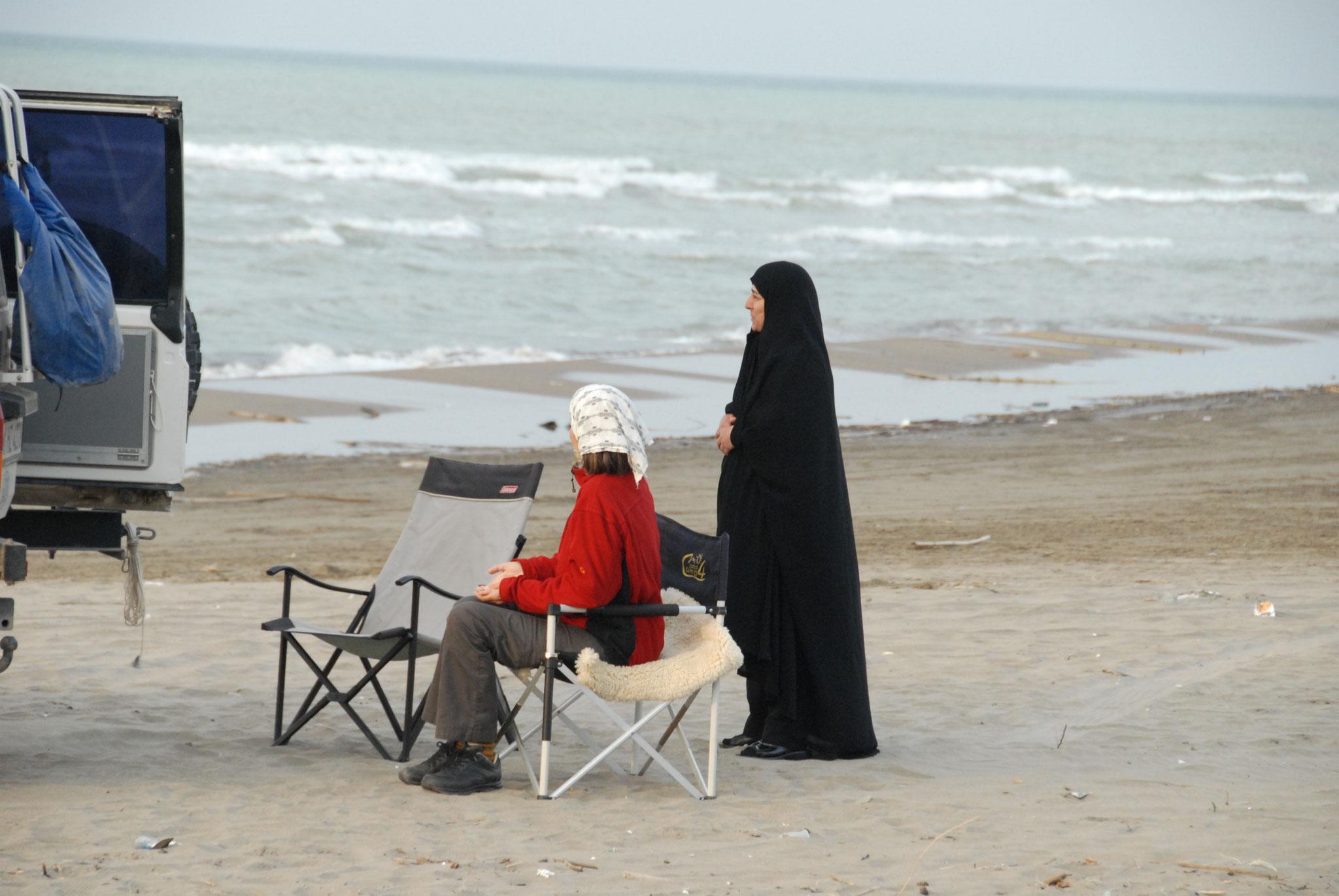 Begegnung am Kaspischen Meer, Iran