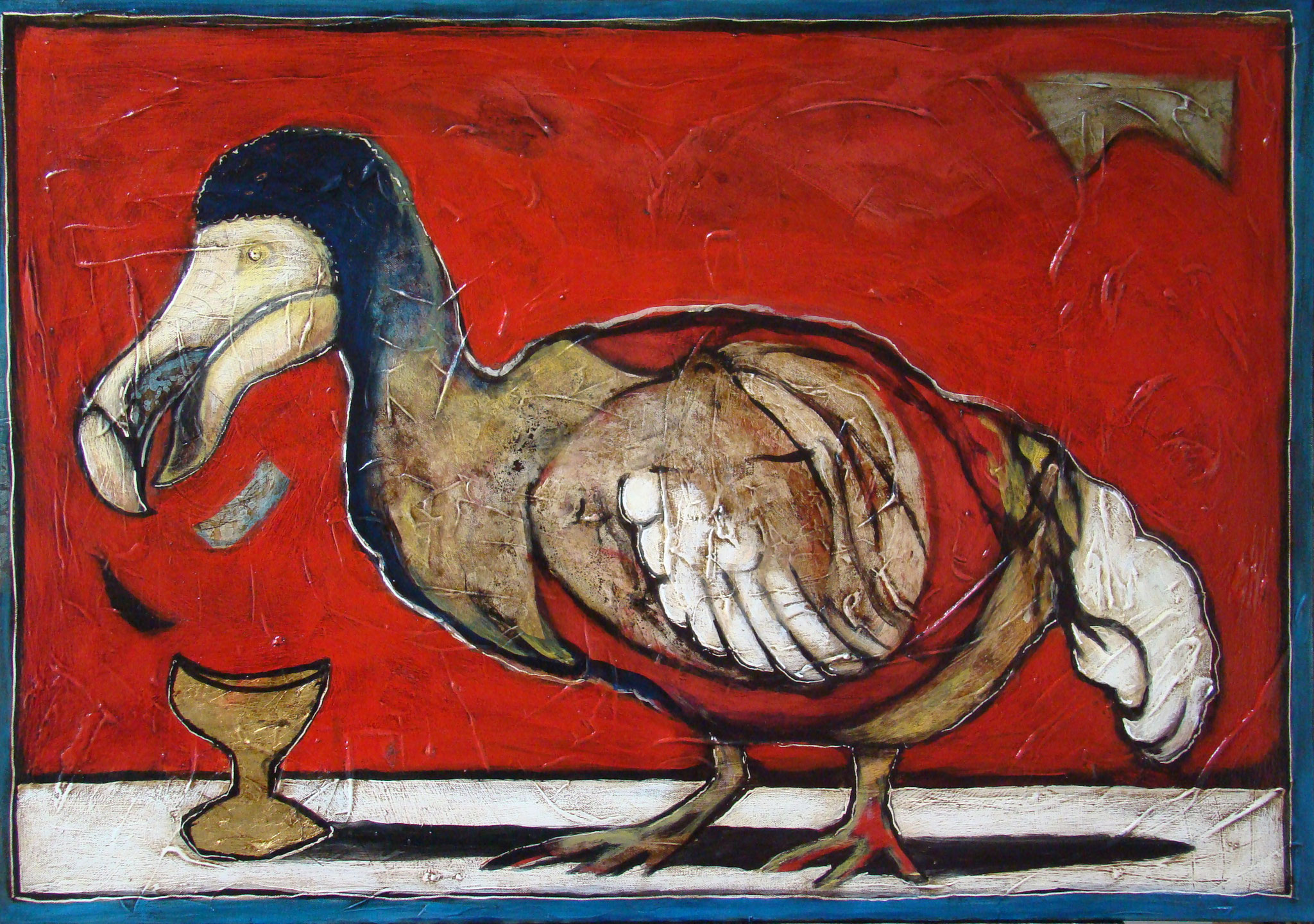 Mauritianische Gralssuche, 72 x 102 cm, 2016