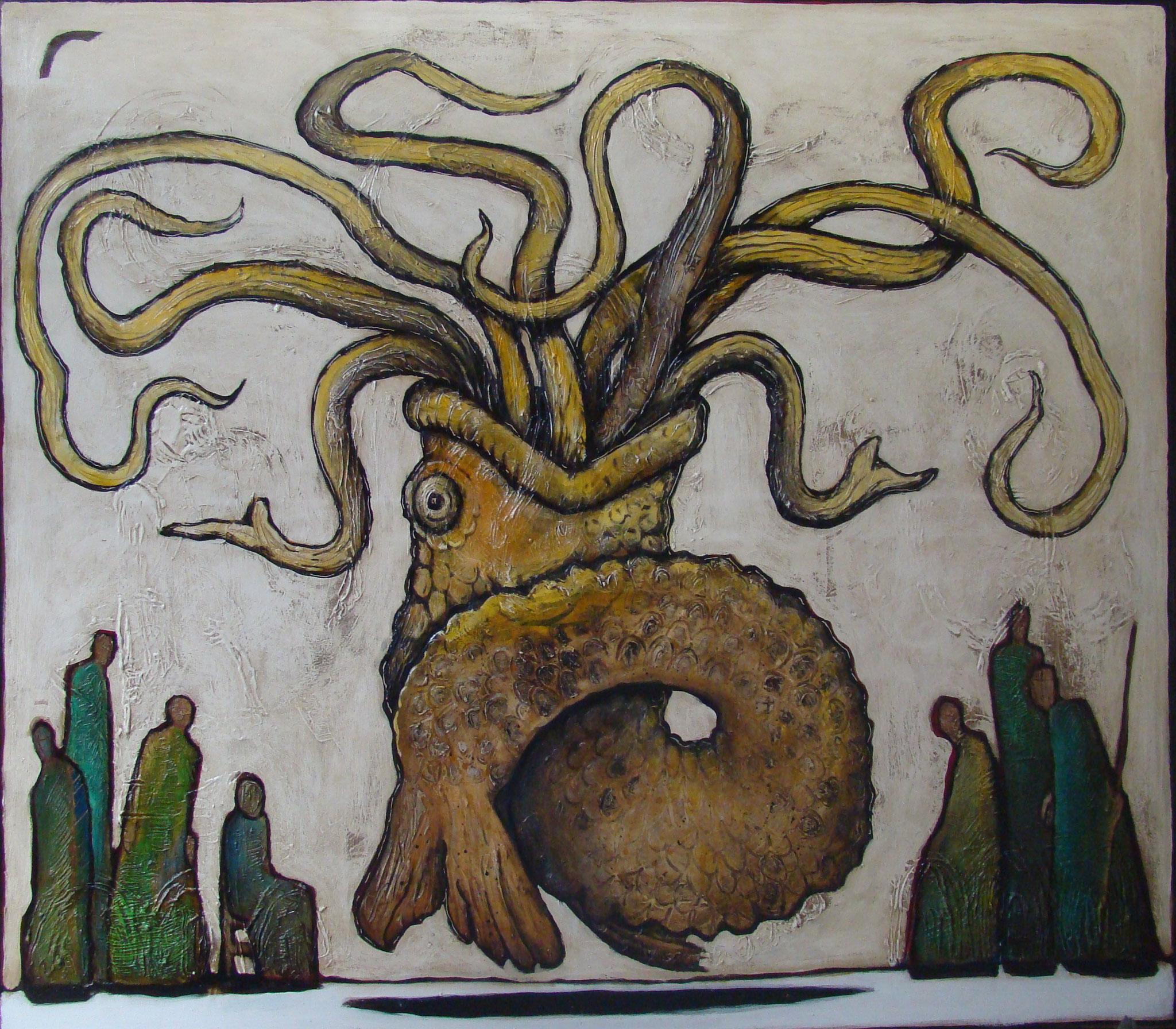 Sirene, 180 x 200 cm, 2012