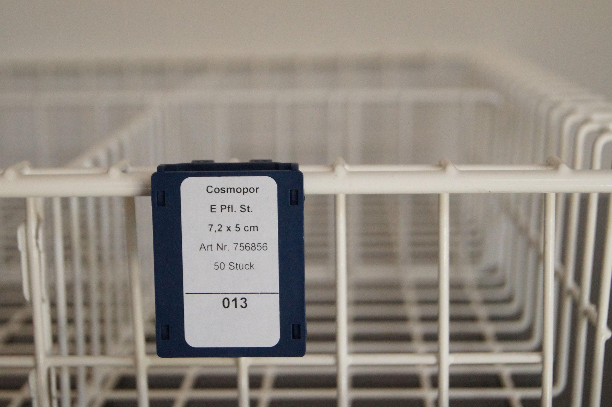 Etikett ist zum Bestellen unterwegs