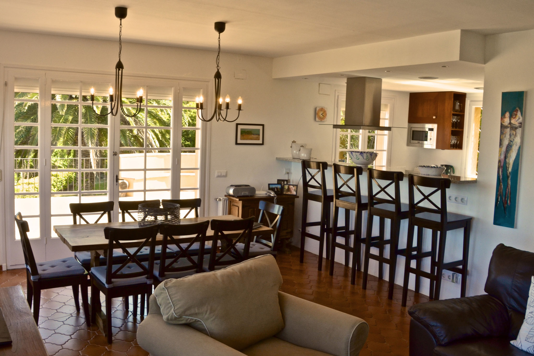 Dining and sitting area