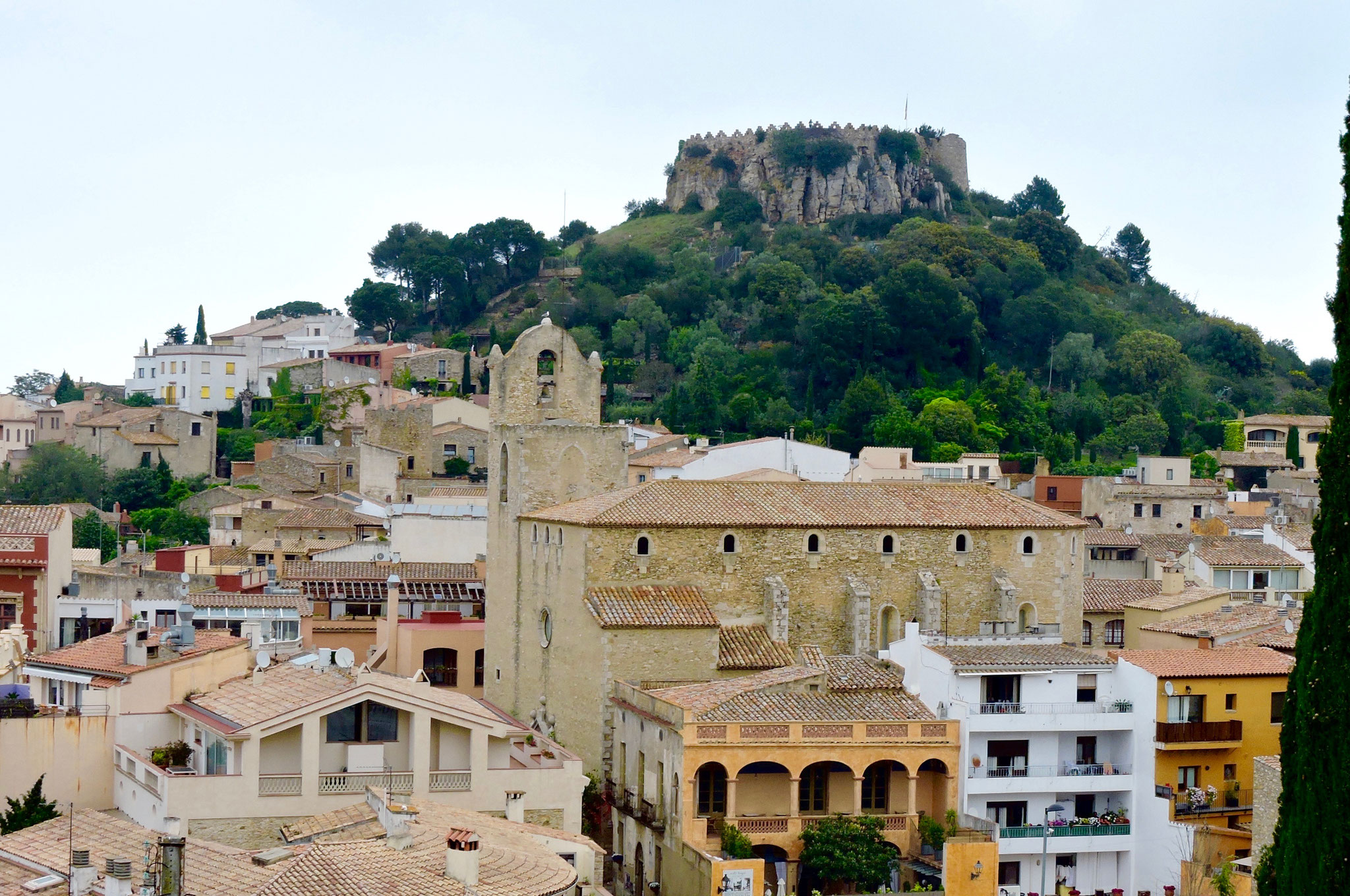 Begur and its castle