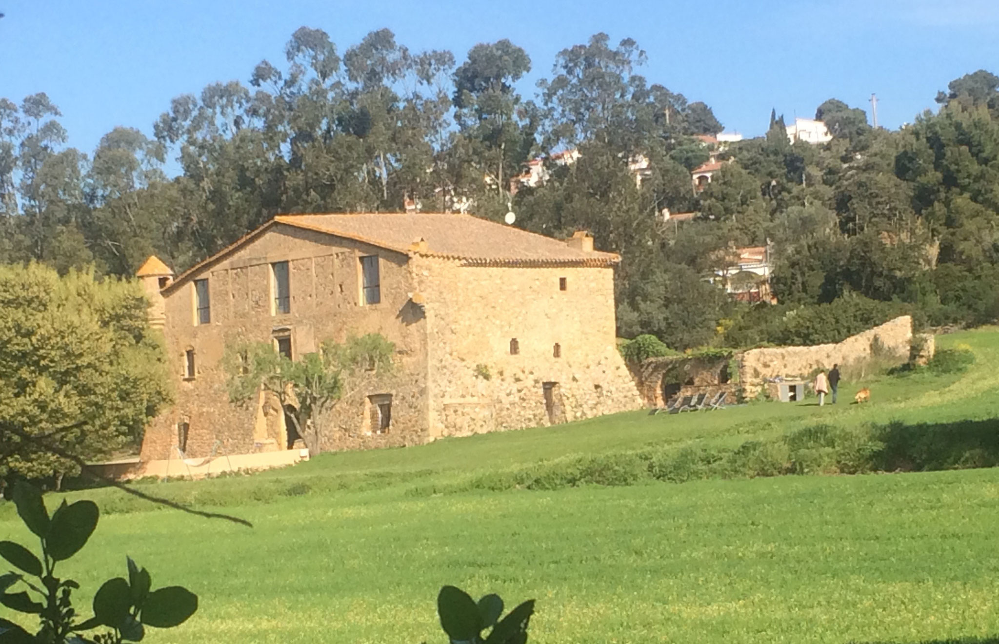 A masia (farm) between Begur & Pals