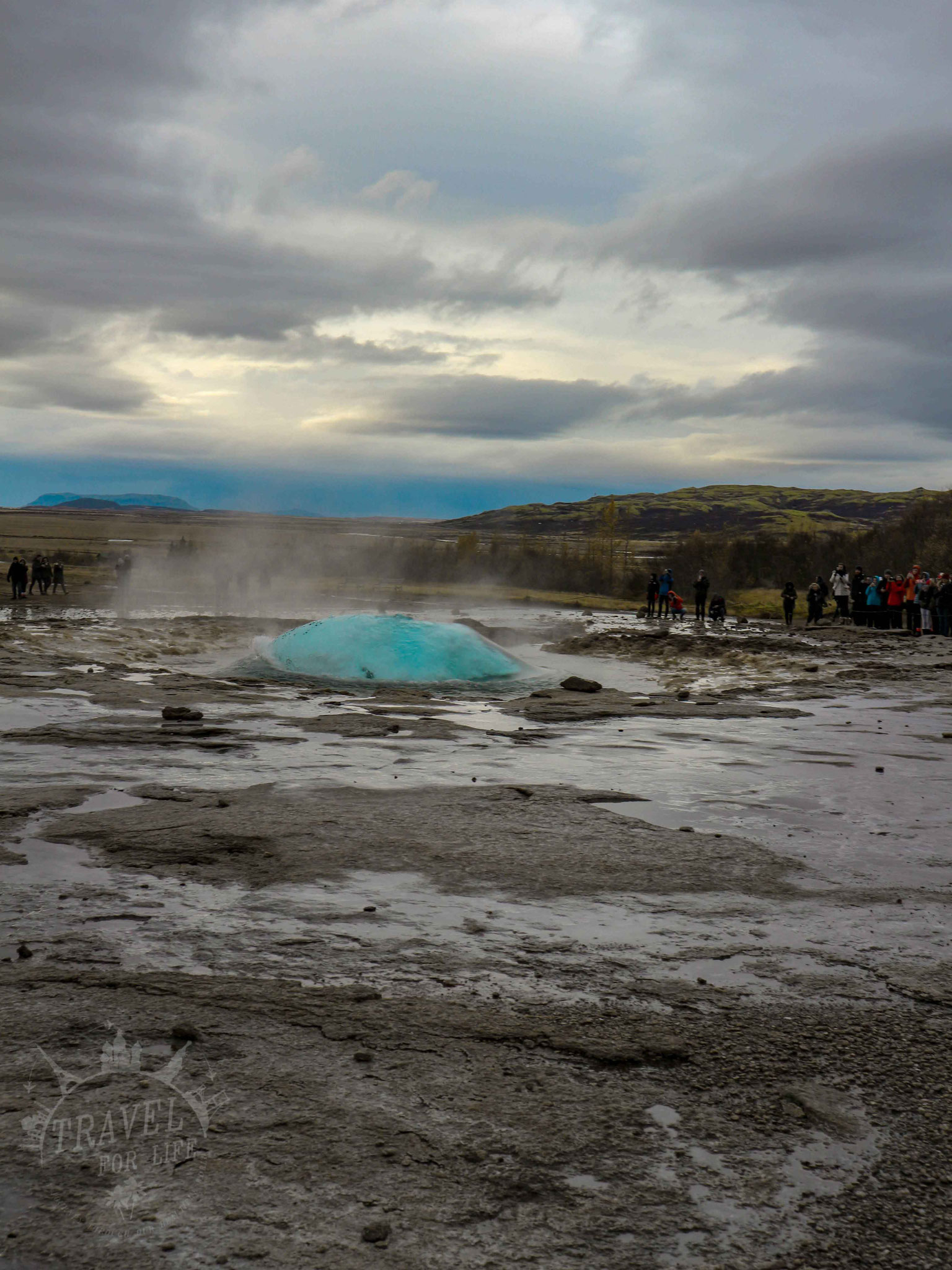 "Die Eruption des ""Strokkur"""