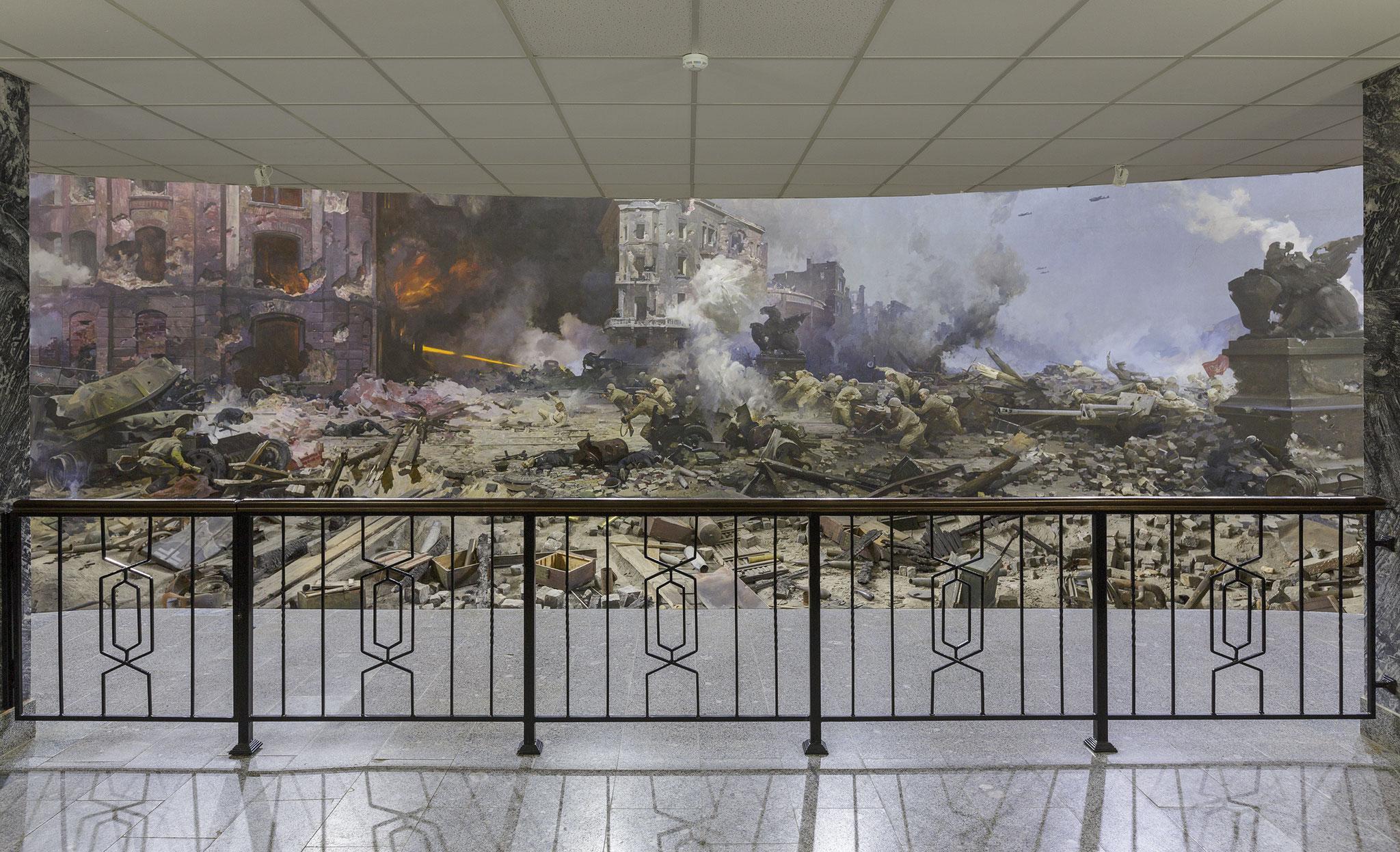 Diorama, Zhukov near Moscow, 2019