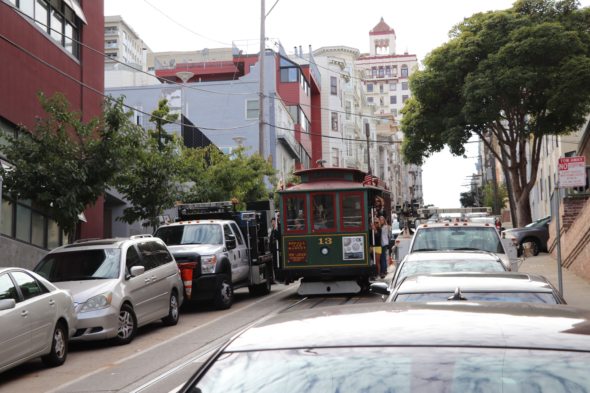 the all famous San Francisco Cable Car