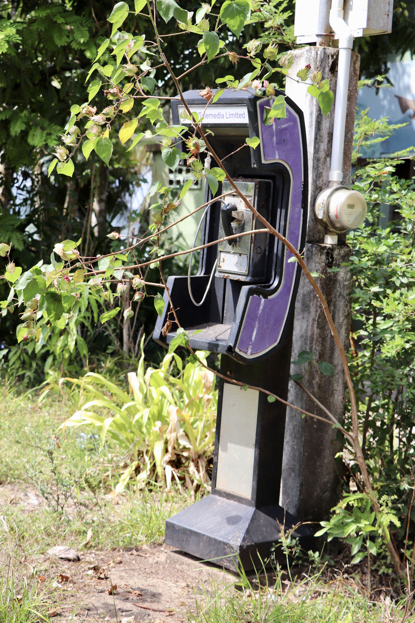 ..left overs of the days before mobile communication which obviously wasn't long ago