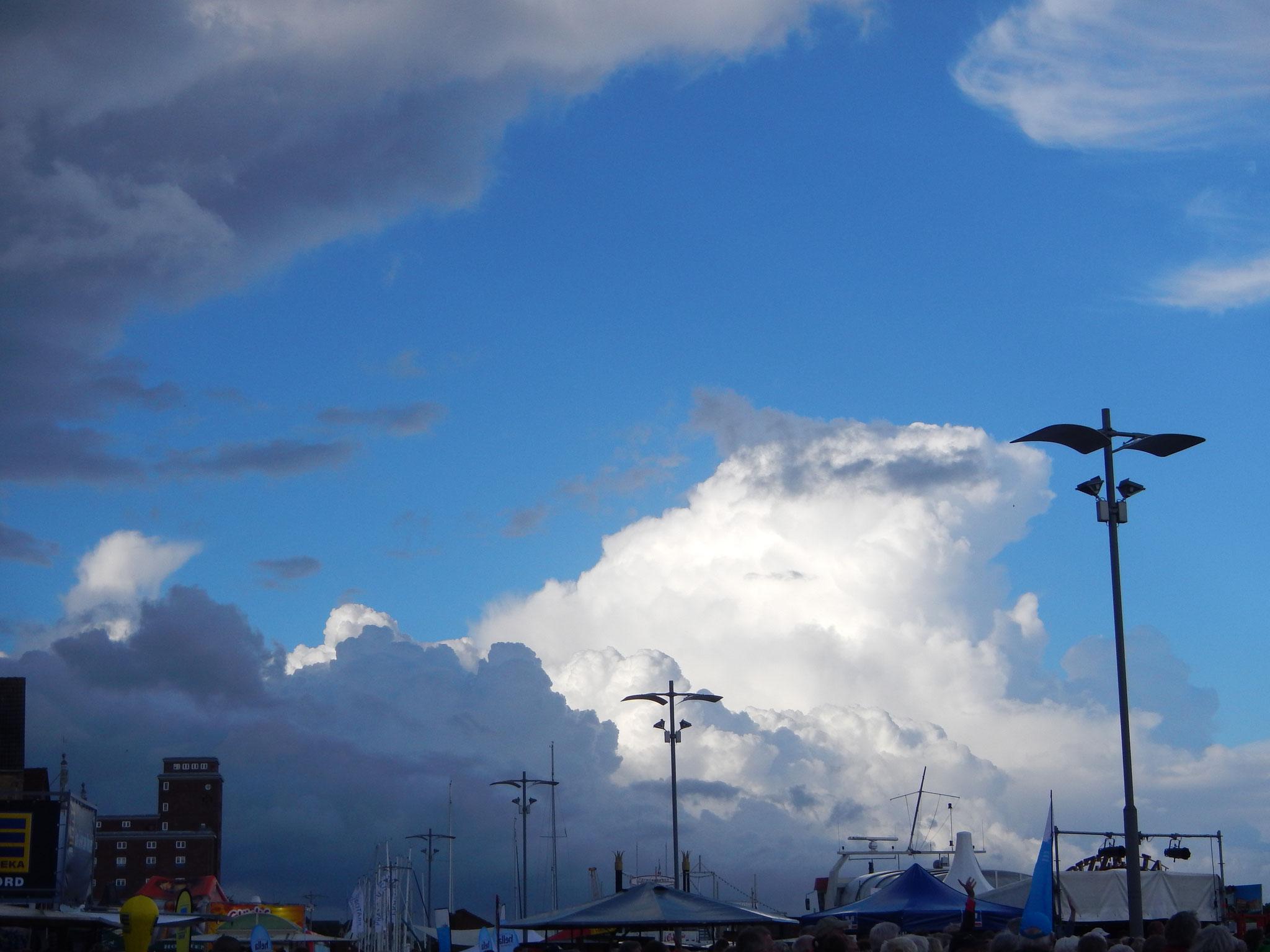 Der Himmel über Kappeln
