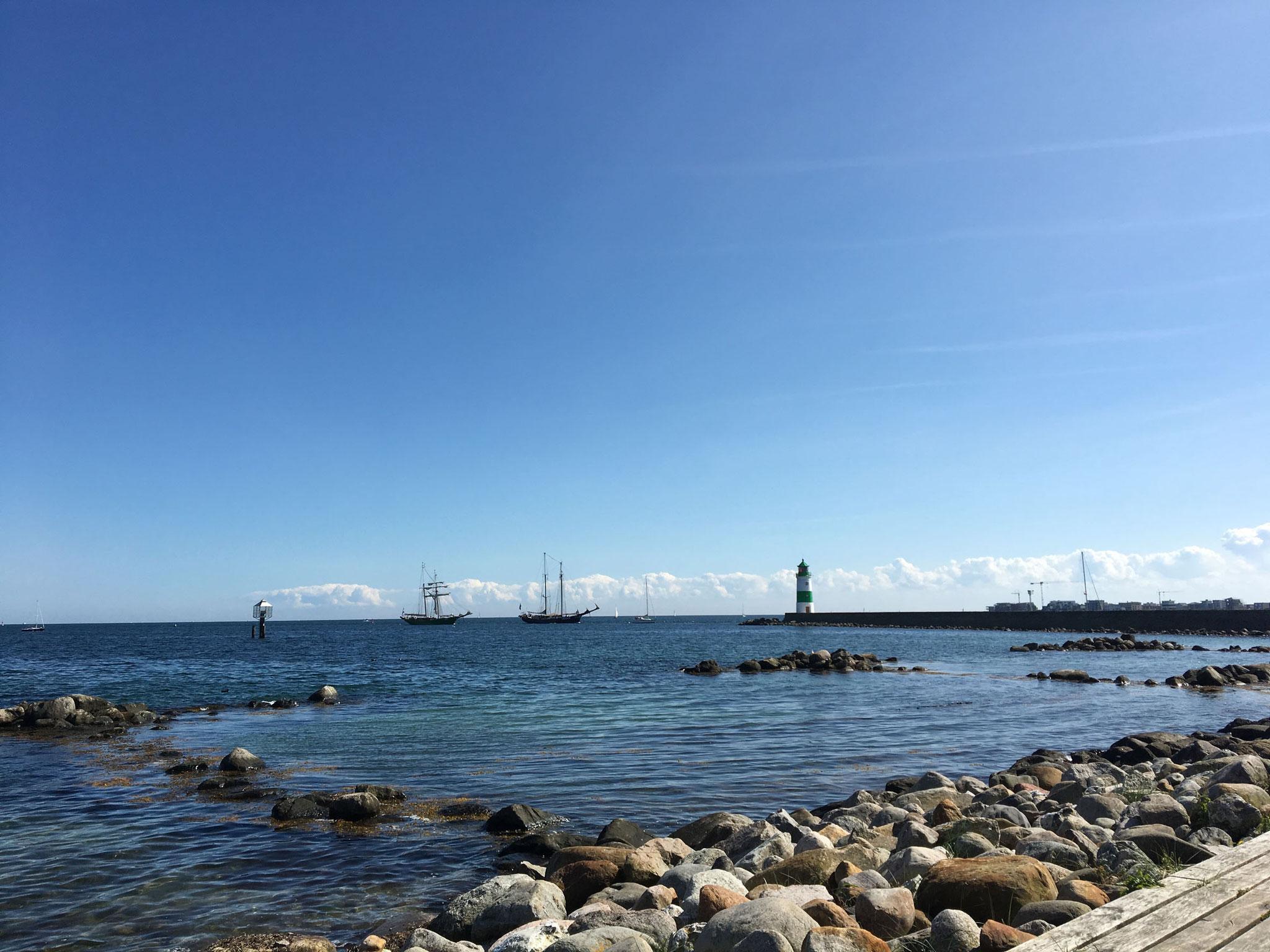 Nachmittags herrlichstes Panorama