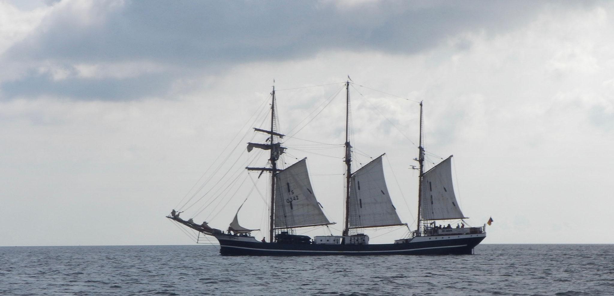 Traditionssegler auf der Kieler Bucht