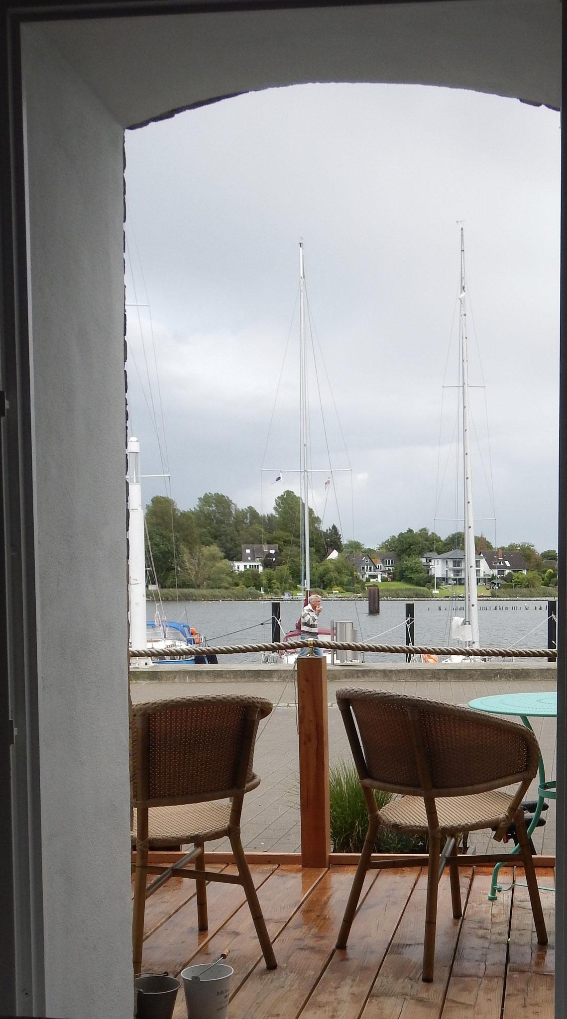 Blick aus der Hafenheimat