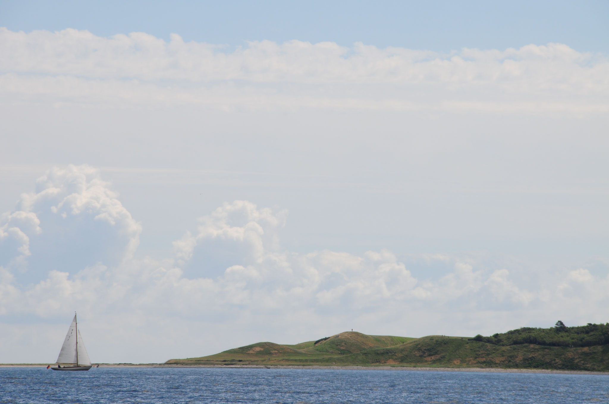 Piraya 2016 vor Samsøs Nordspitze