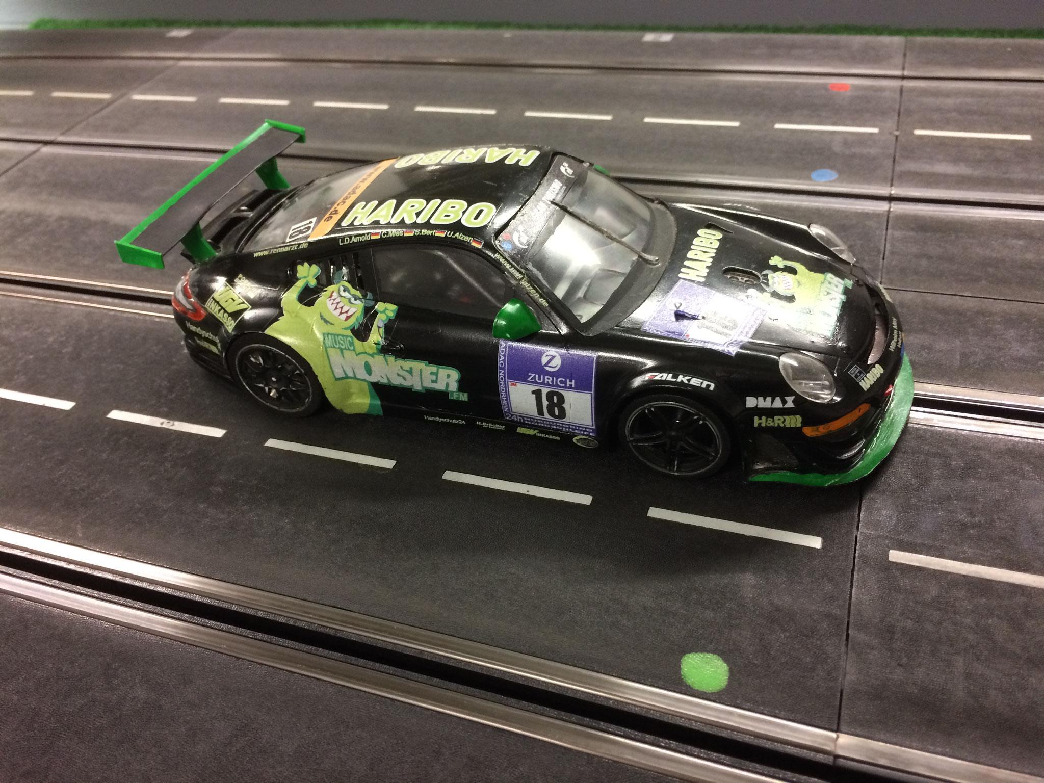 Porsche RSR GT3 von Gastfahrer Kai
