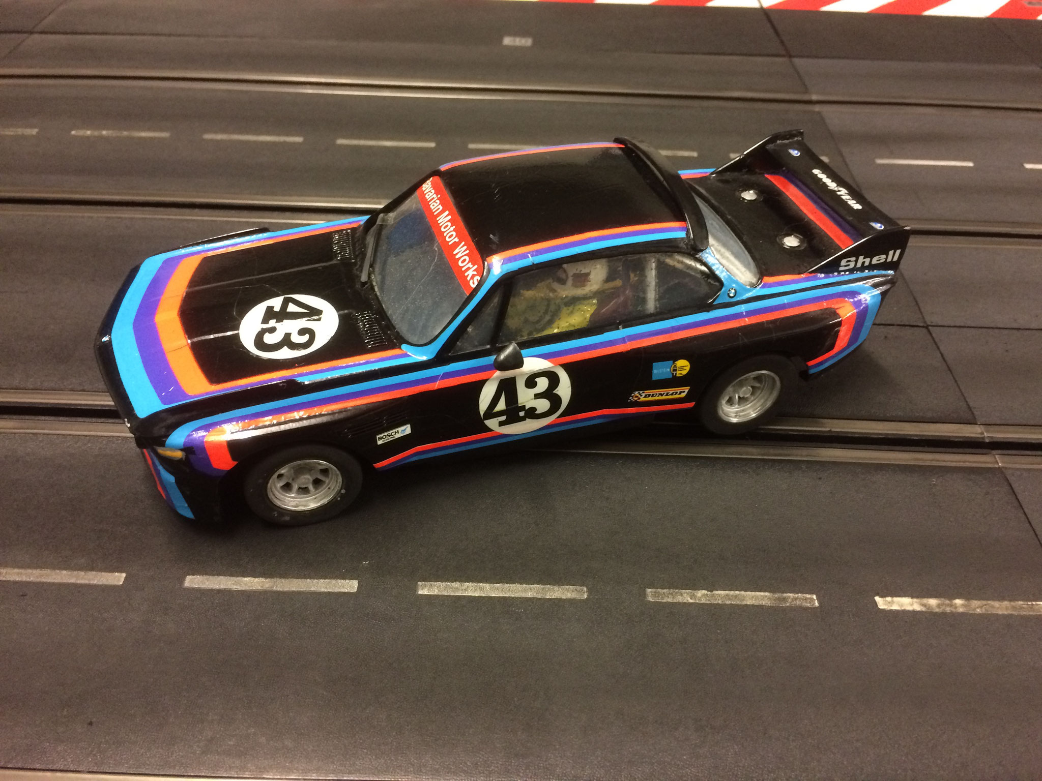 BMW 3,0 CSL - Die schwarze Version aus Woodies Rennstall