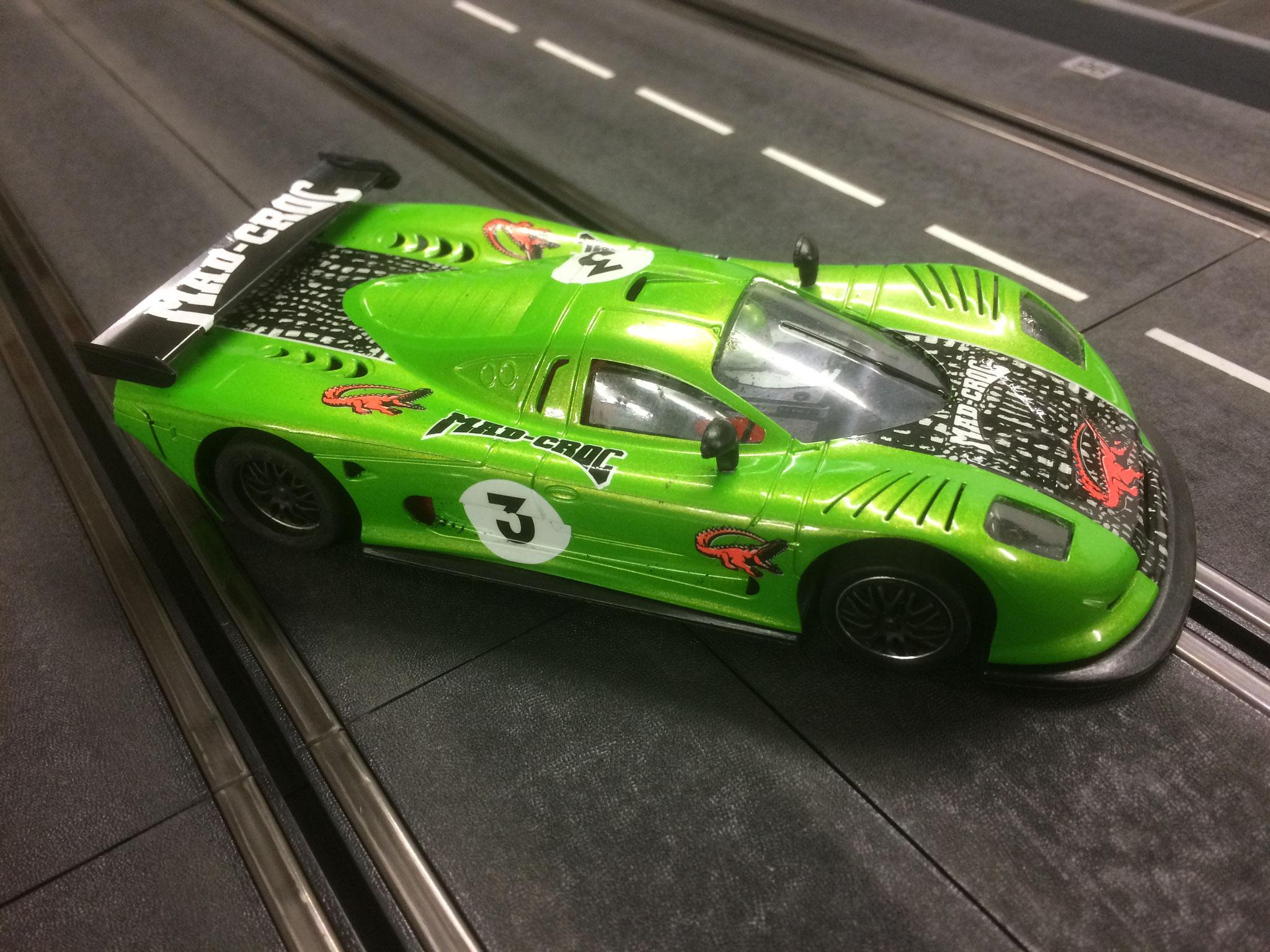 MOSLER GT von Markus - Das Krokodil mit alternativem Chassis