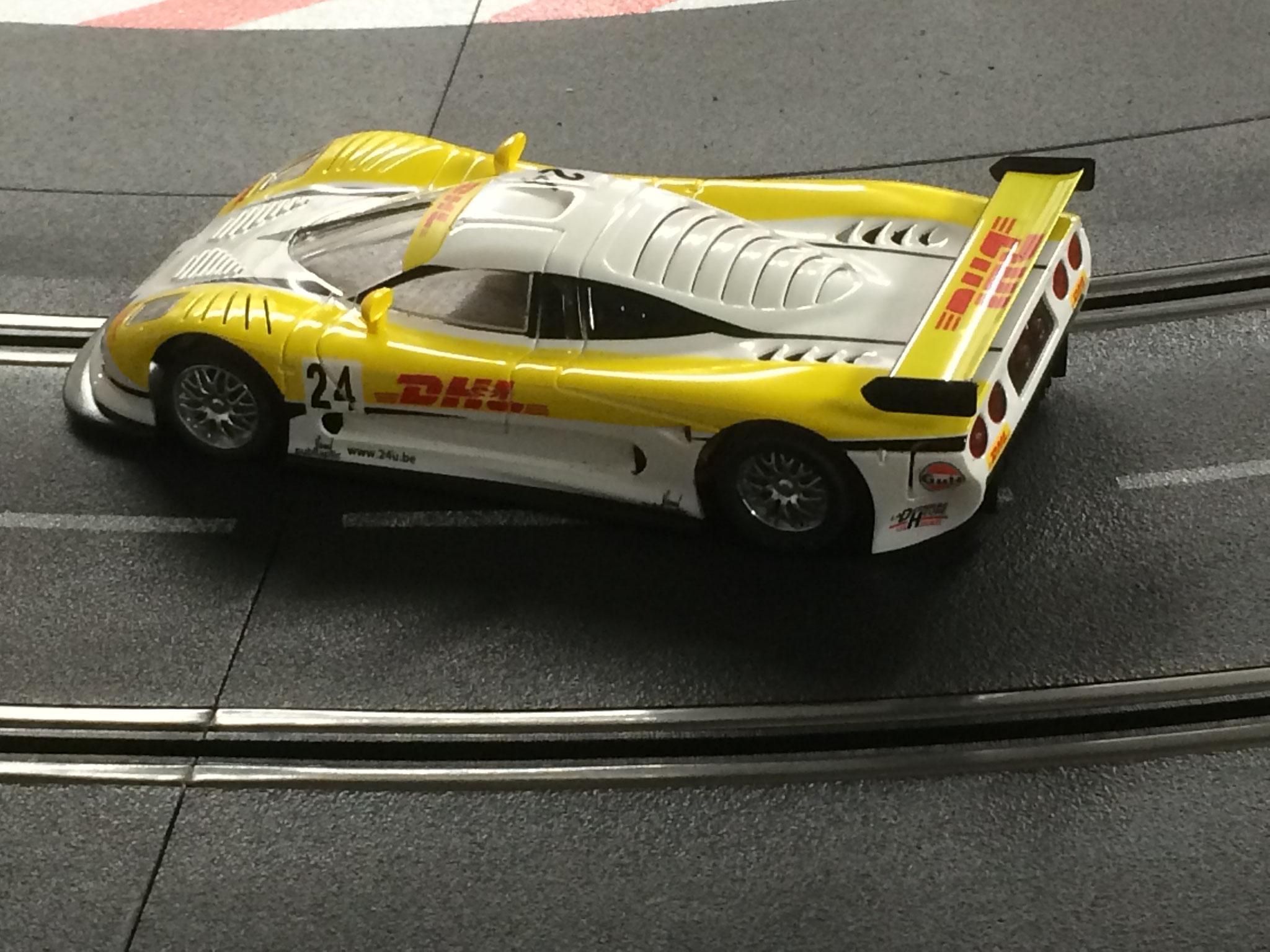 NSR MOSLER GT von Woody - Trainingsauto mit Alternativantrieb ;-)