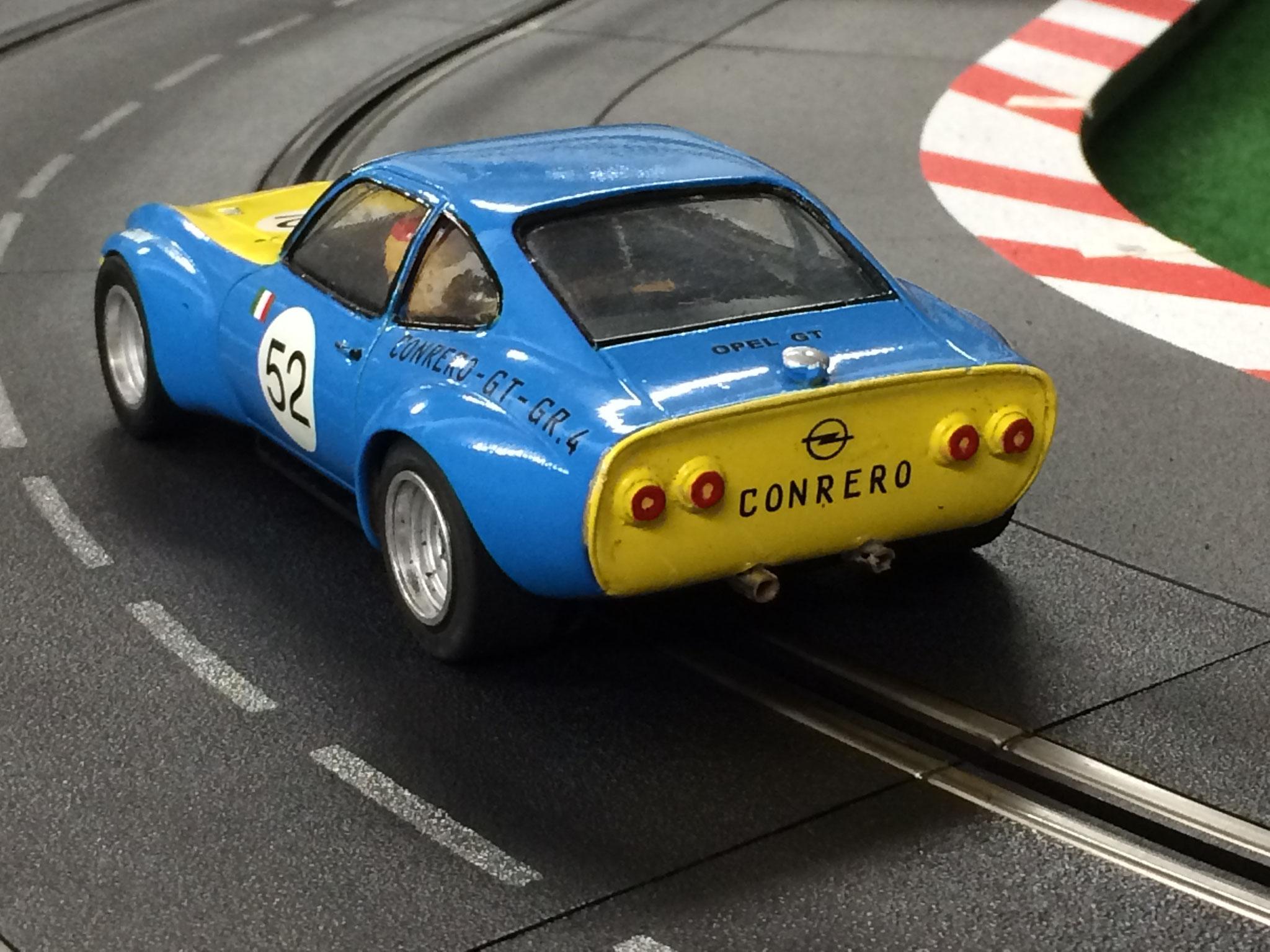 Sammy´s Opel GT in der Heckansicht