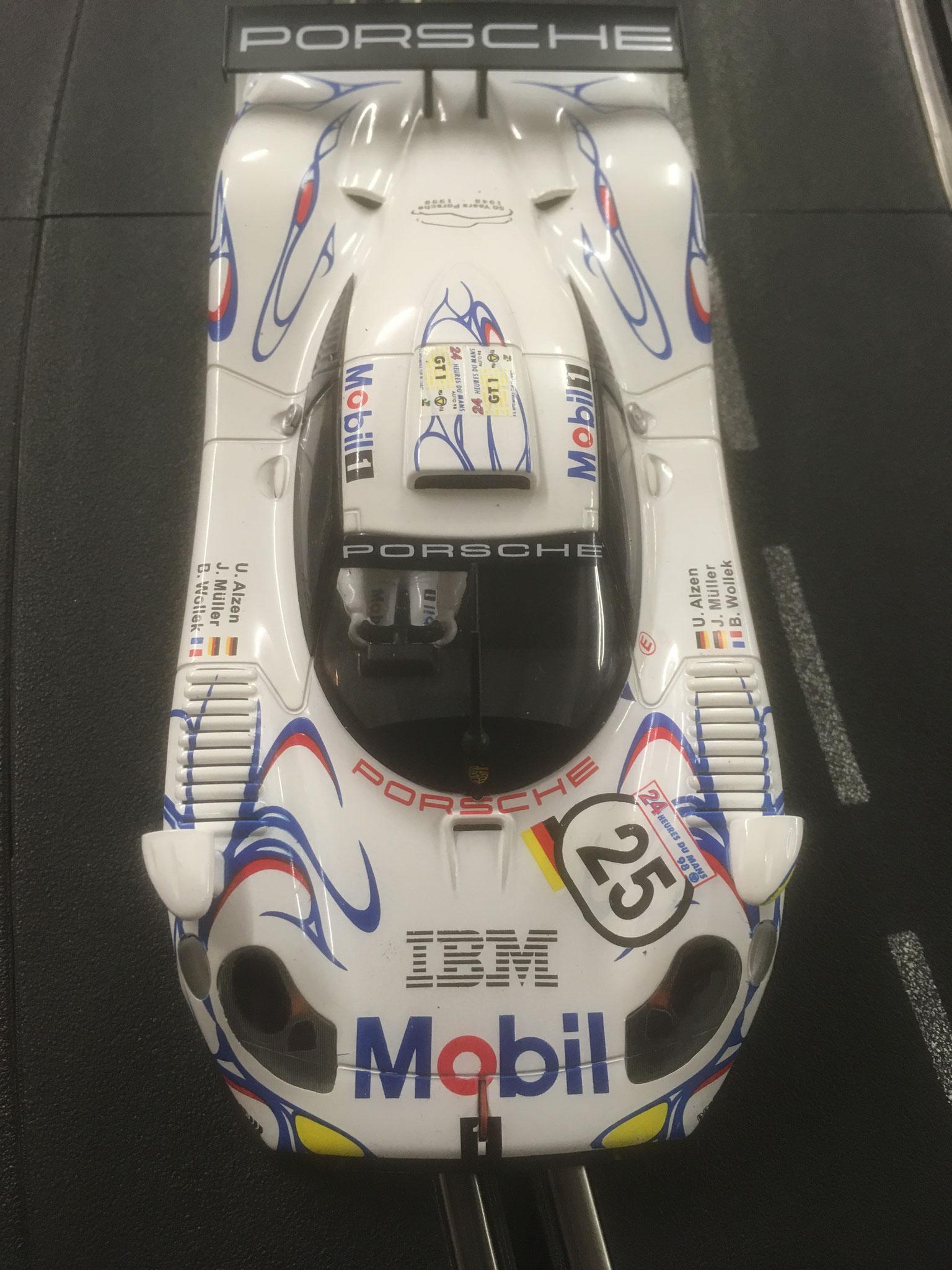 SLOT.IT Porsche GT1 - Robertos Renner von Oben betrachtet