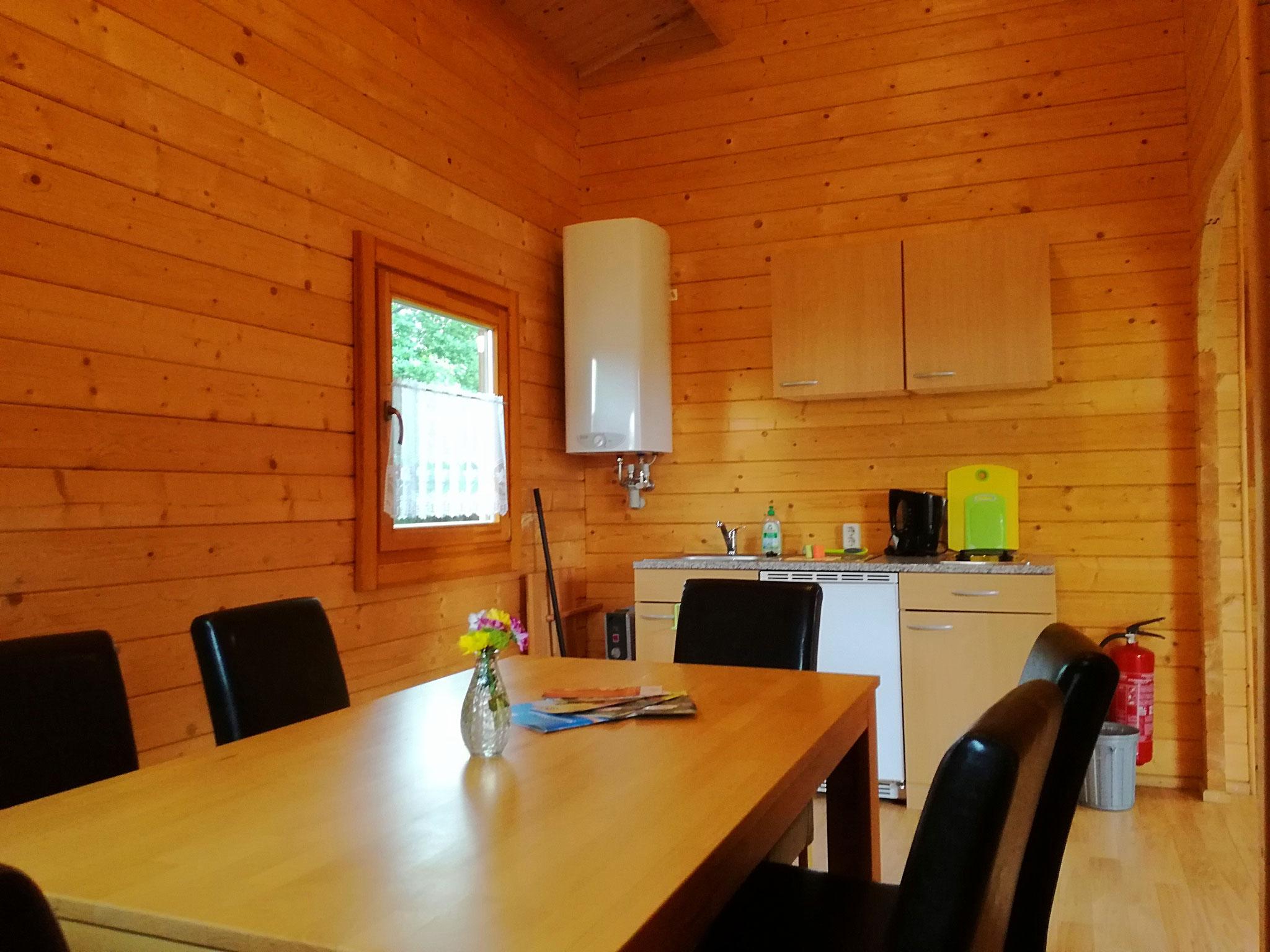 Beispiel Küche / Essbereich große Hütte
