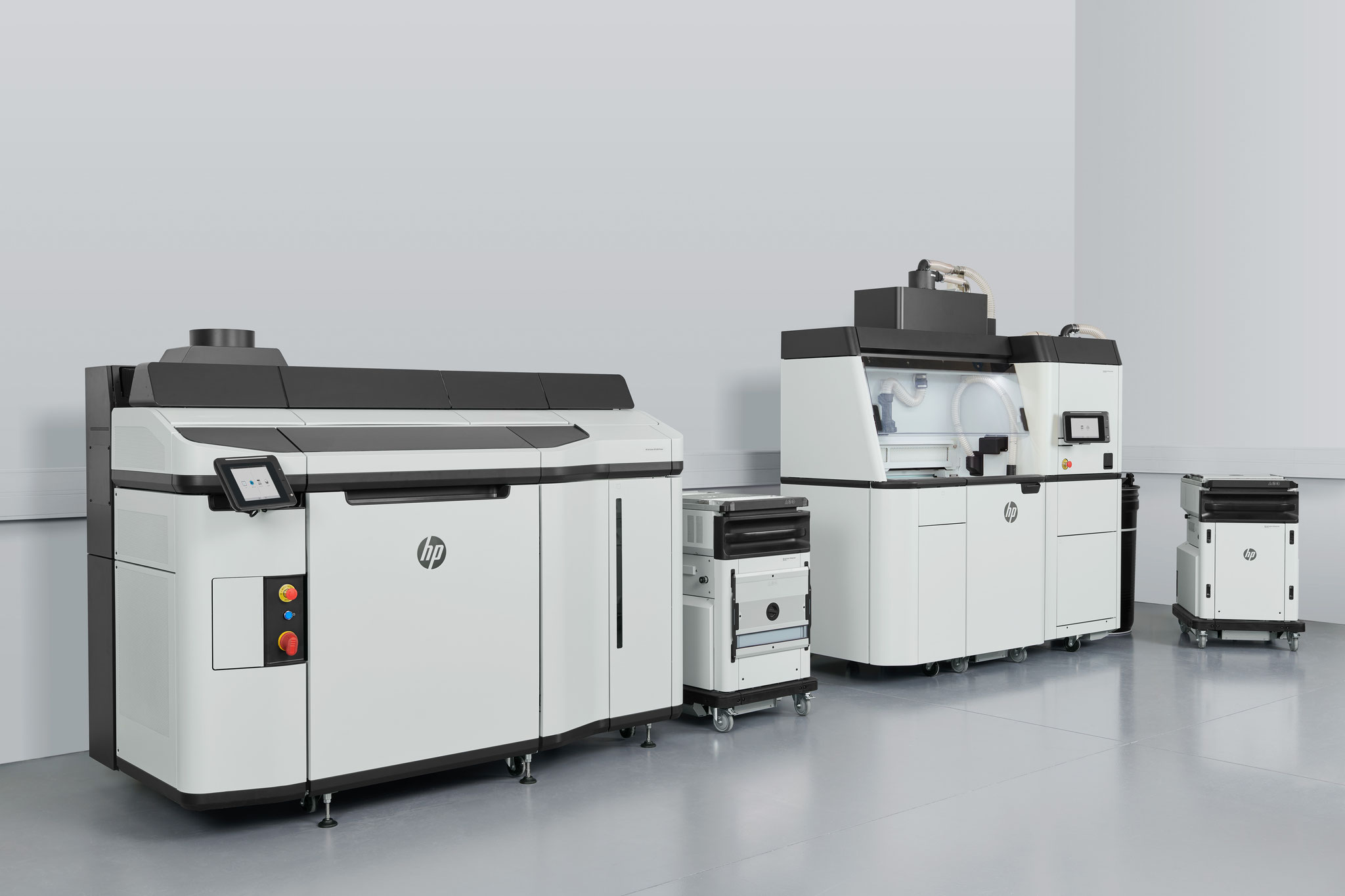 HP Jet Fusion 5200 Series mit Build Unit + 3D Processing Station