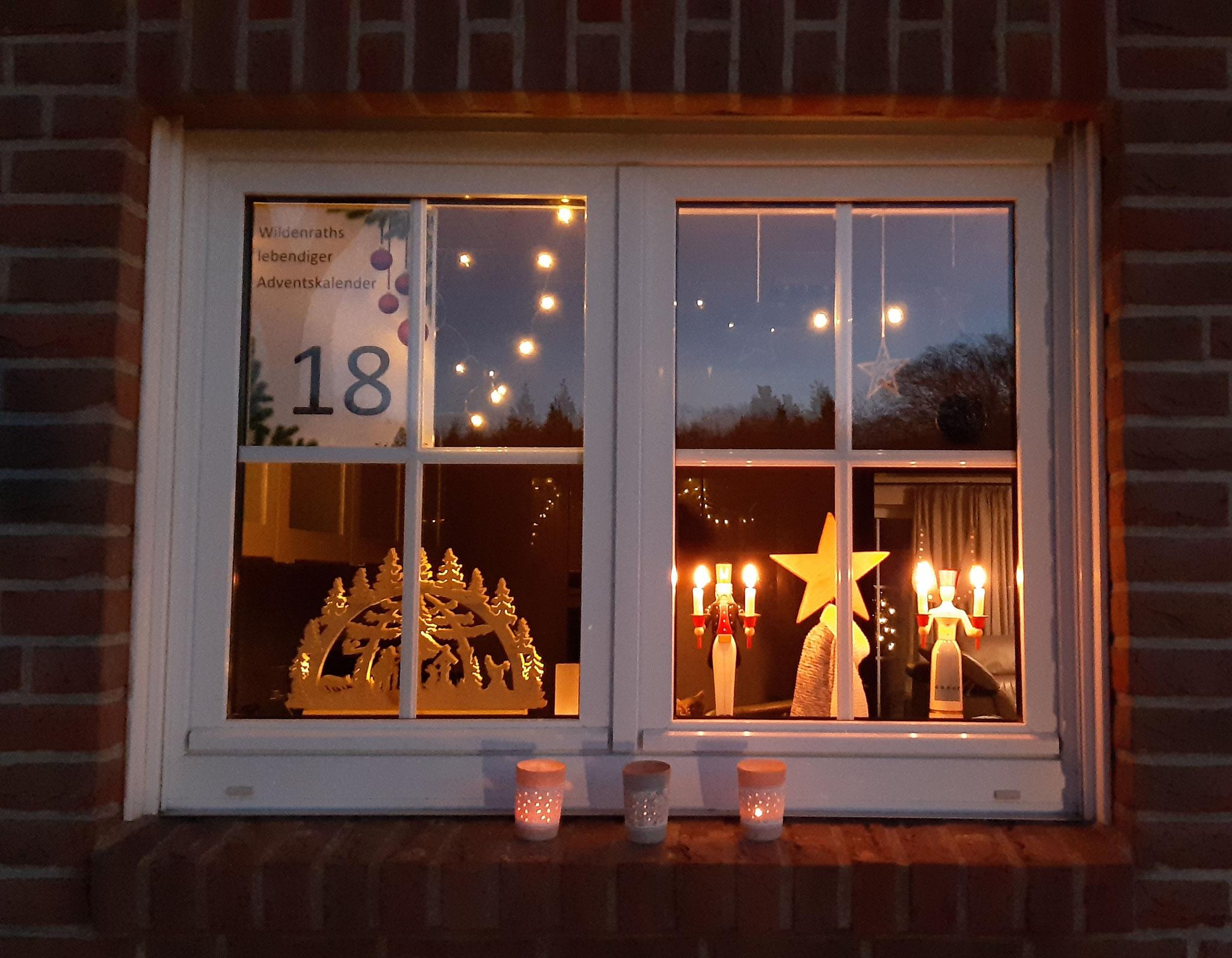 Adventsfenster Nr. 18