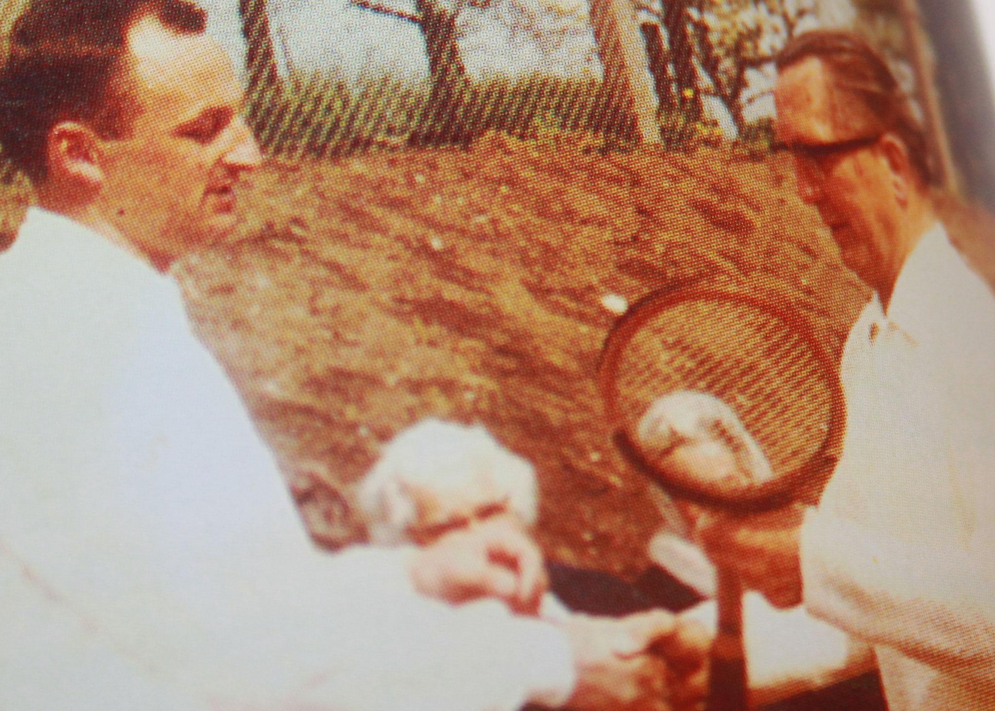 1968 Platzeinweihung! Schlüsselübergabe von Bürgermeister Walter Negel an den 1. Vorsitzenden Reimer Rehder