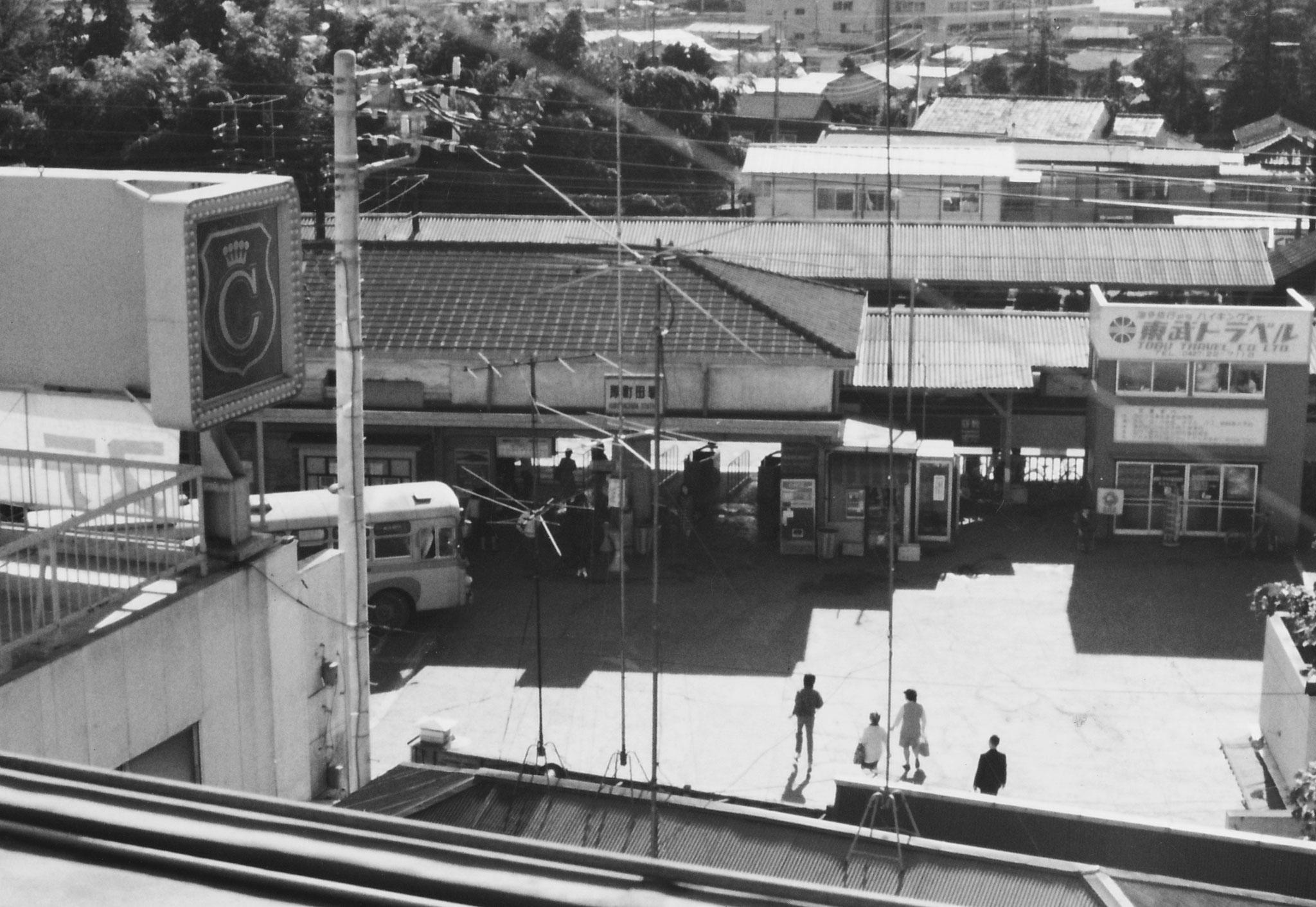 1972年内藤ビル創業時の原町田駅前