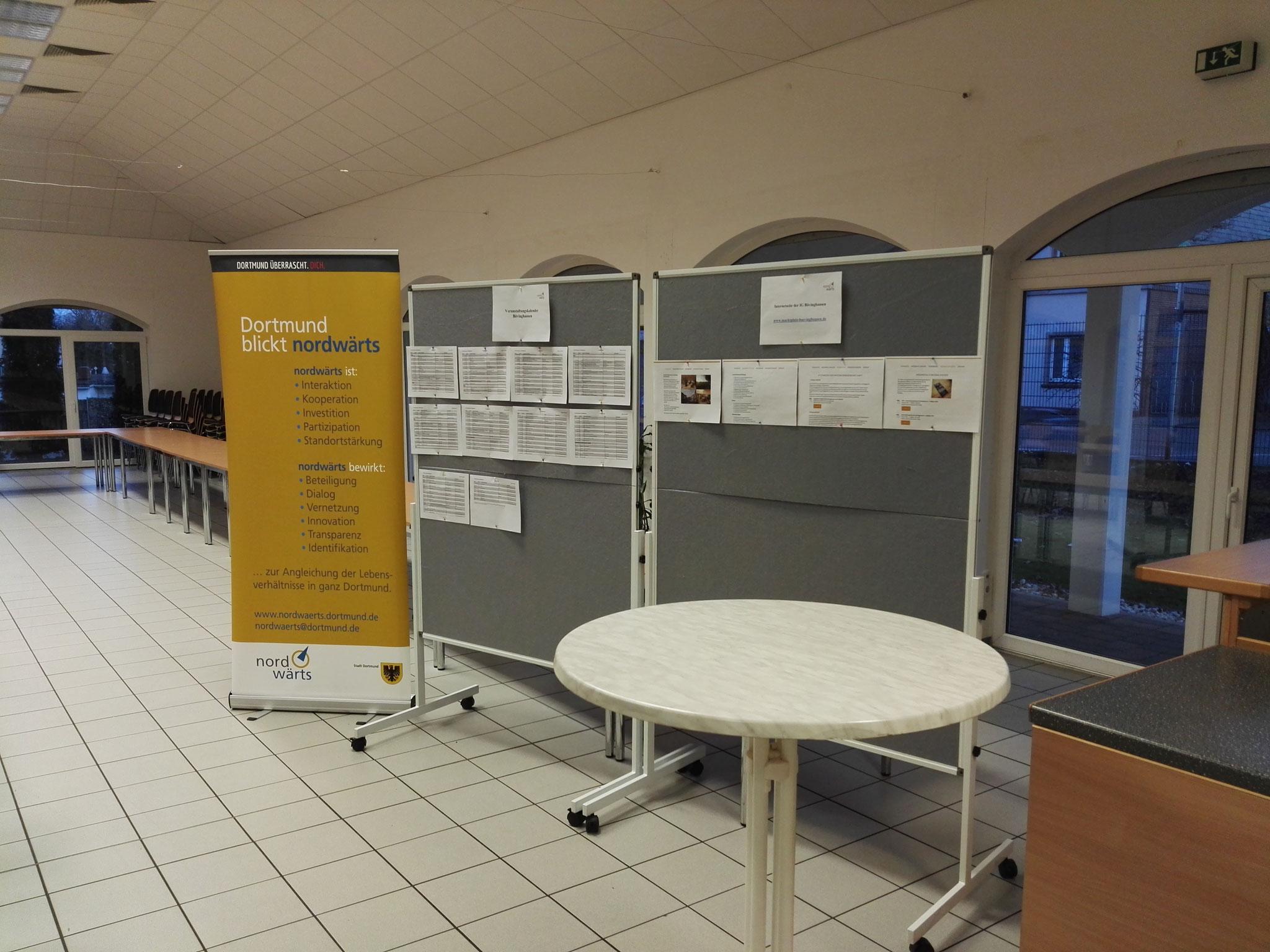 Rahmenprogramm: Eine Ausstellung über die bisherigen Aktivitäten der Interessengemeinschaft