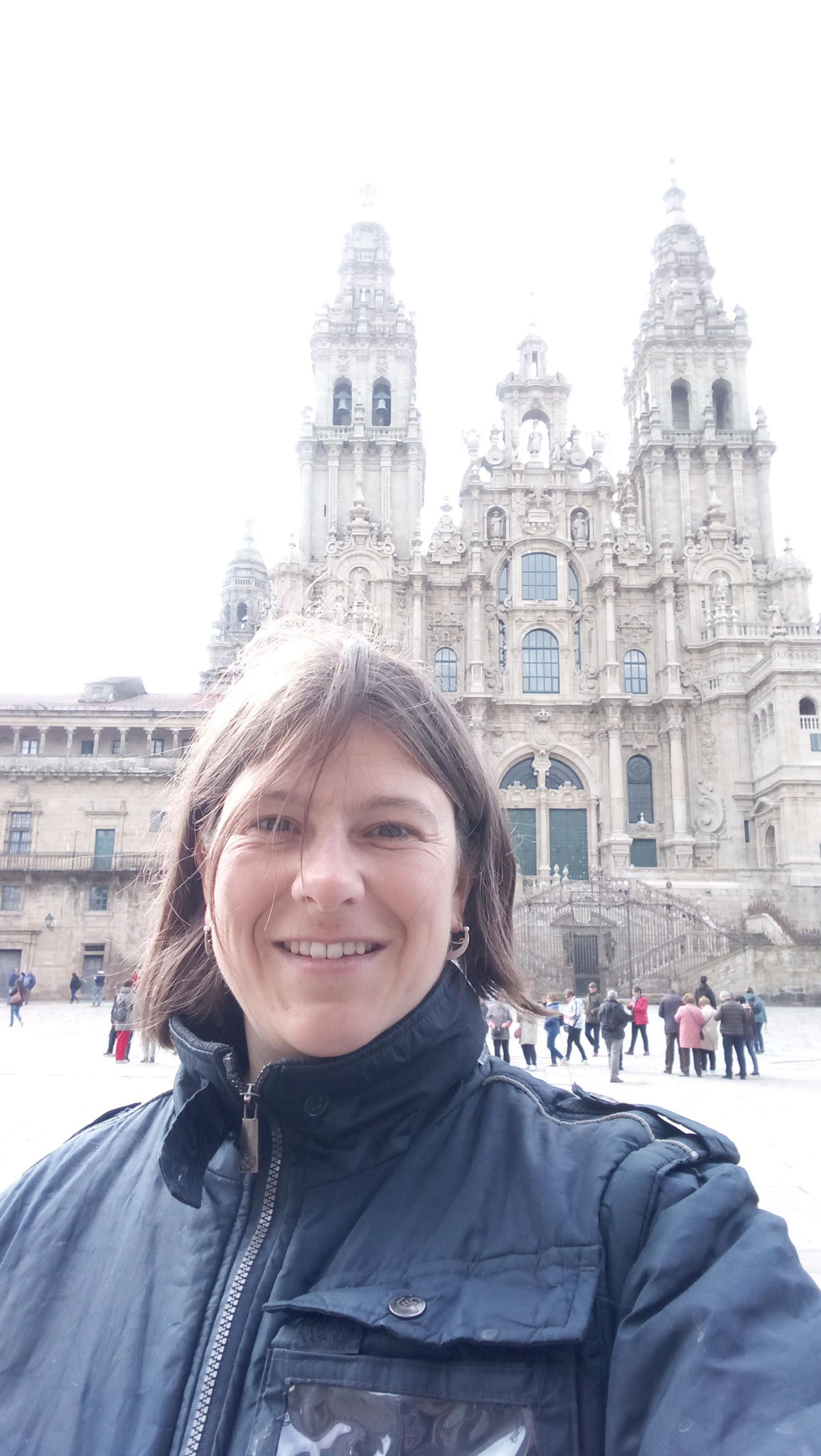 Placa do Obradoiro: Cathedrale Santiago de Compostela
