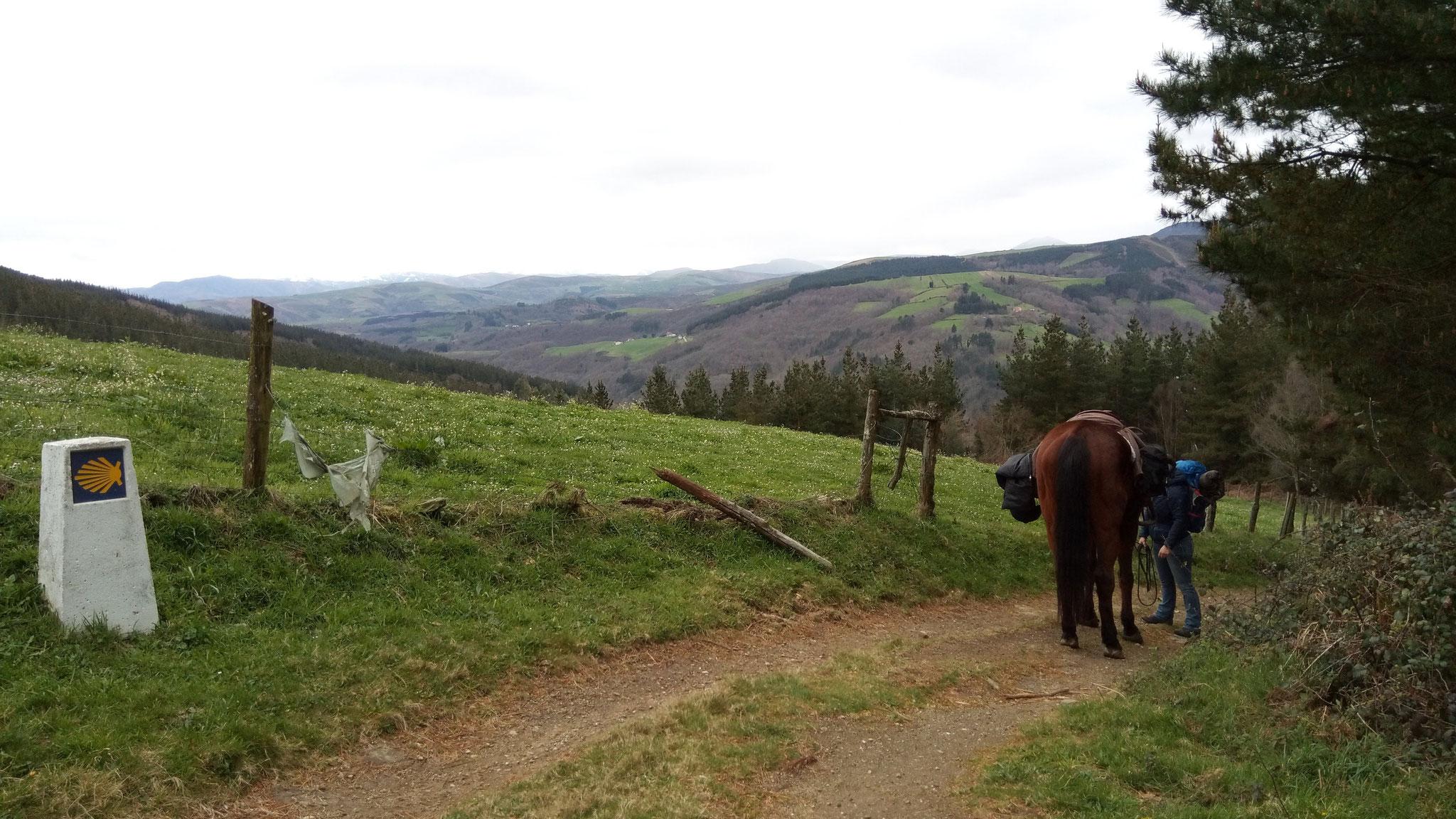 Abstieg nach Pola de Allande