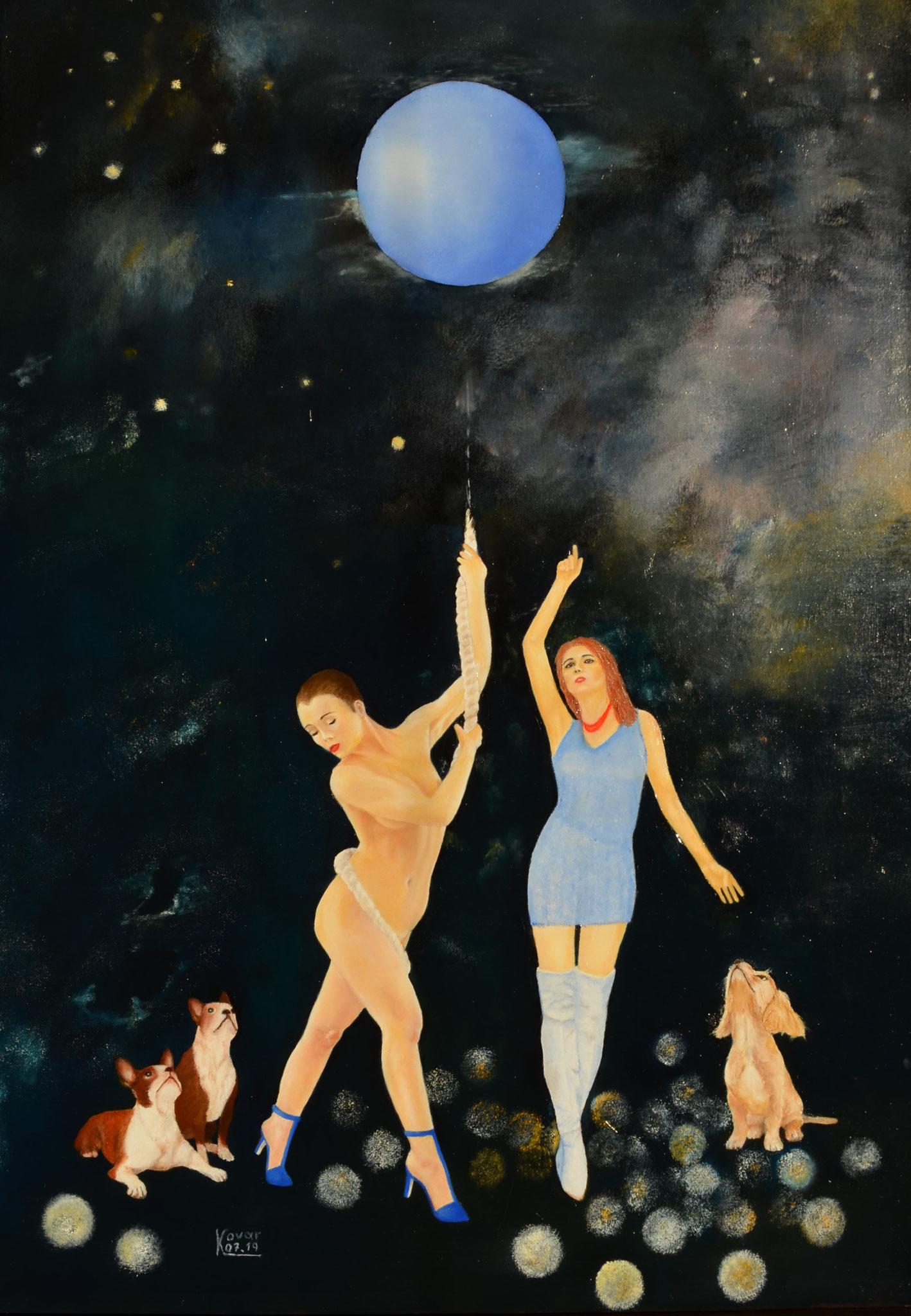 Den Intellektuellen  vermutet  der Homo Sapiens auf  einen Exoplaneten. The intellectual suspects Homo Sapiens of an exoplanet.